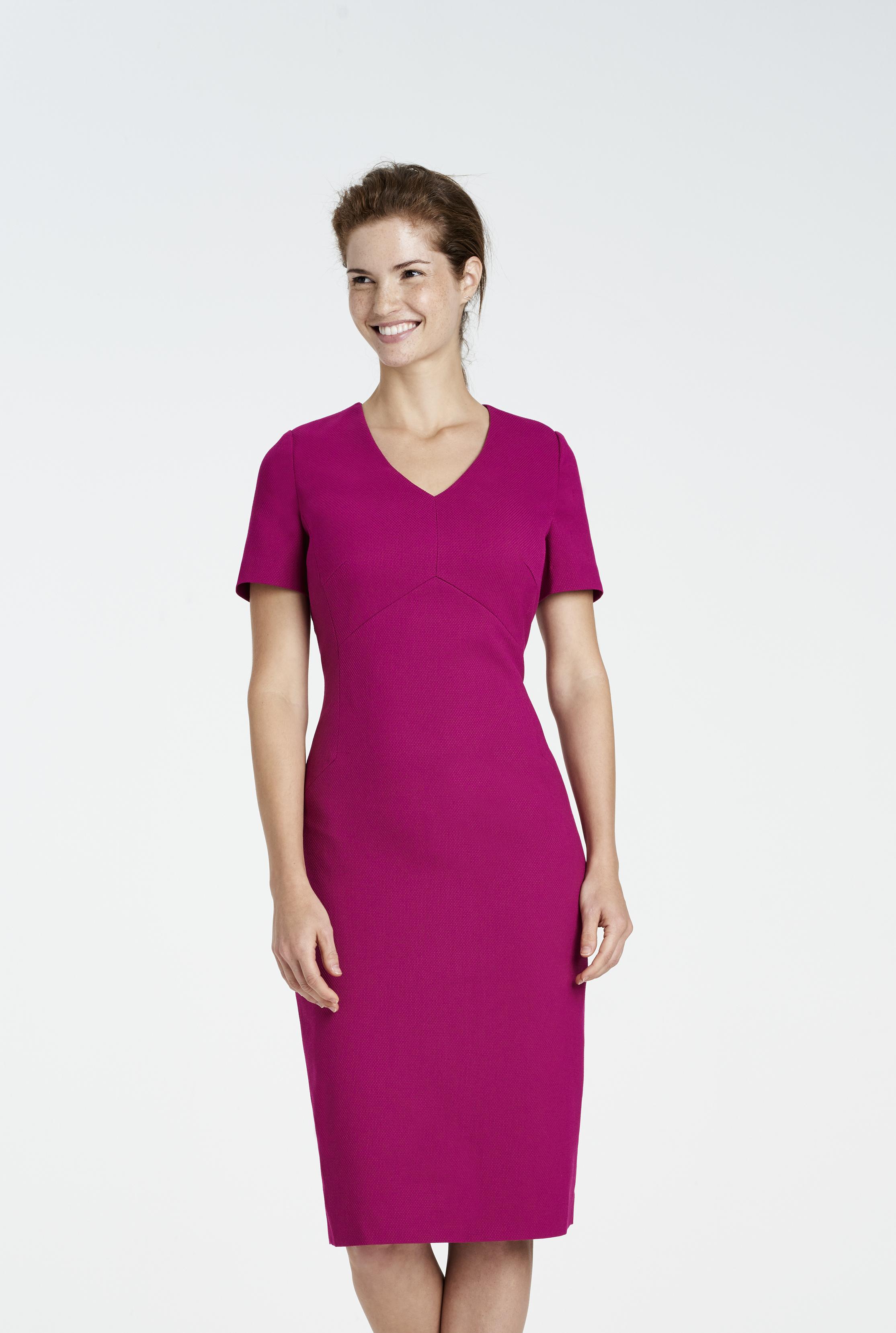 Textured Weave Suit Dress