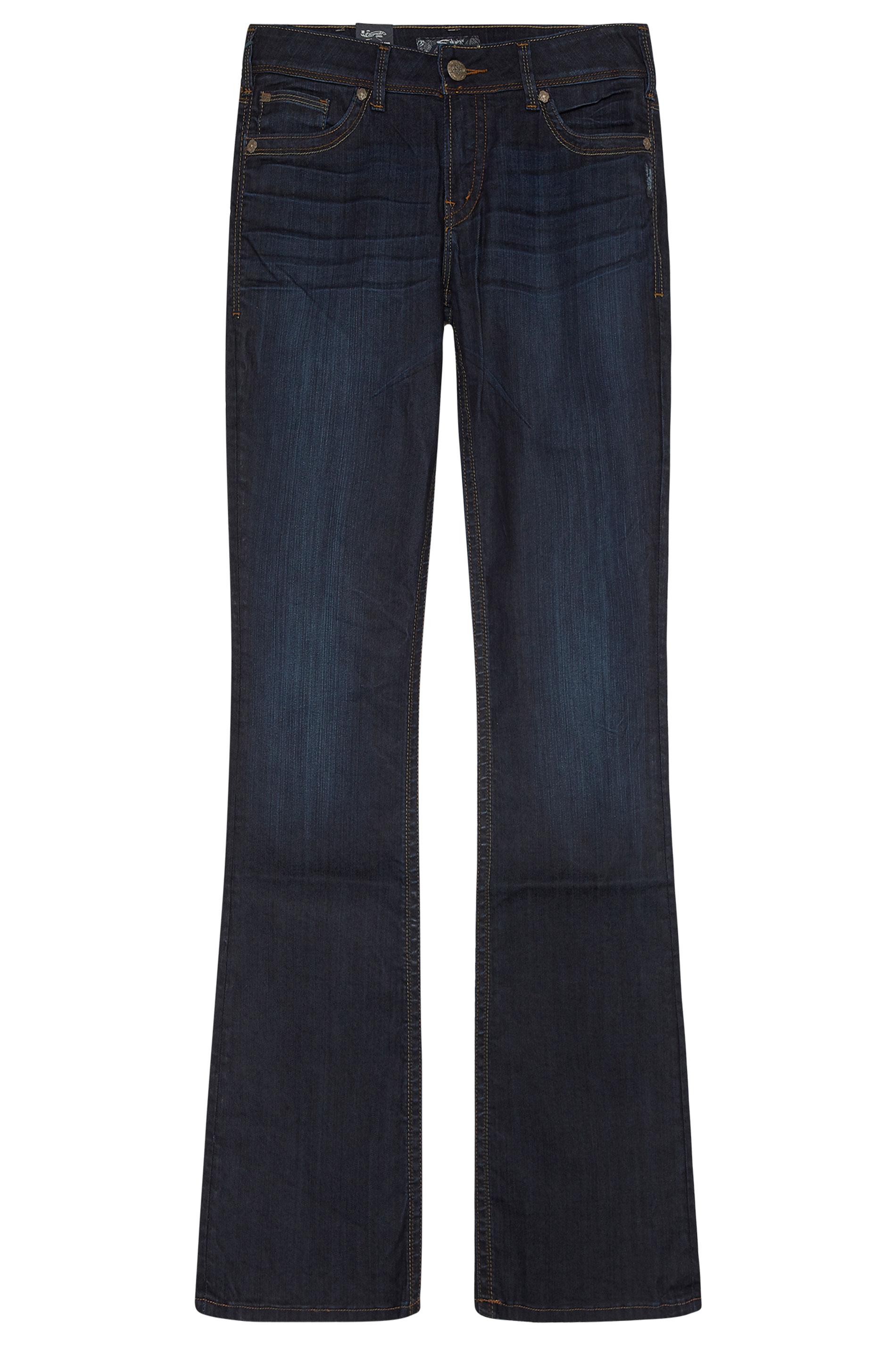 SILVER JEANS Blue Suki Bootcut Jeans