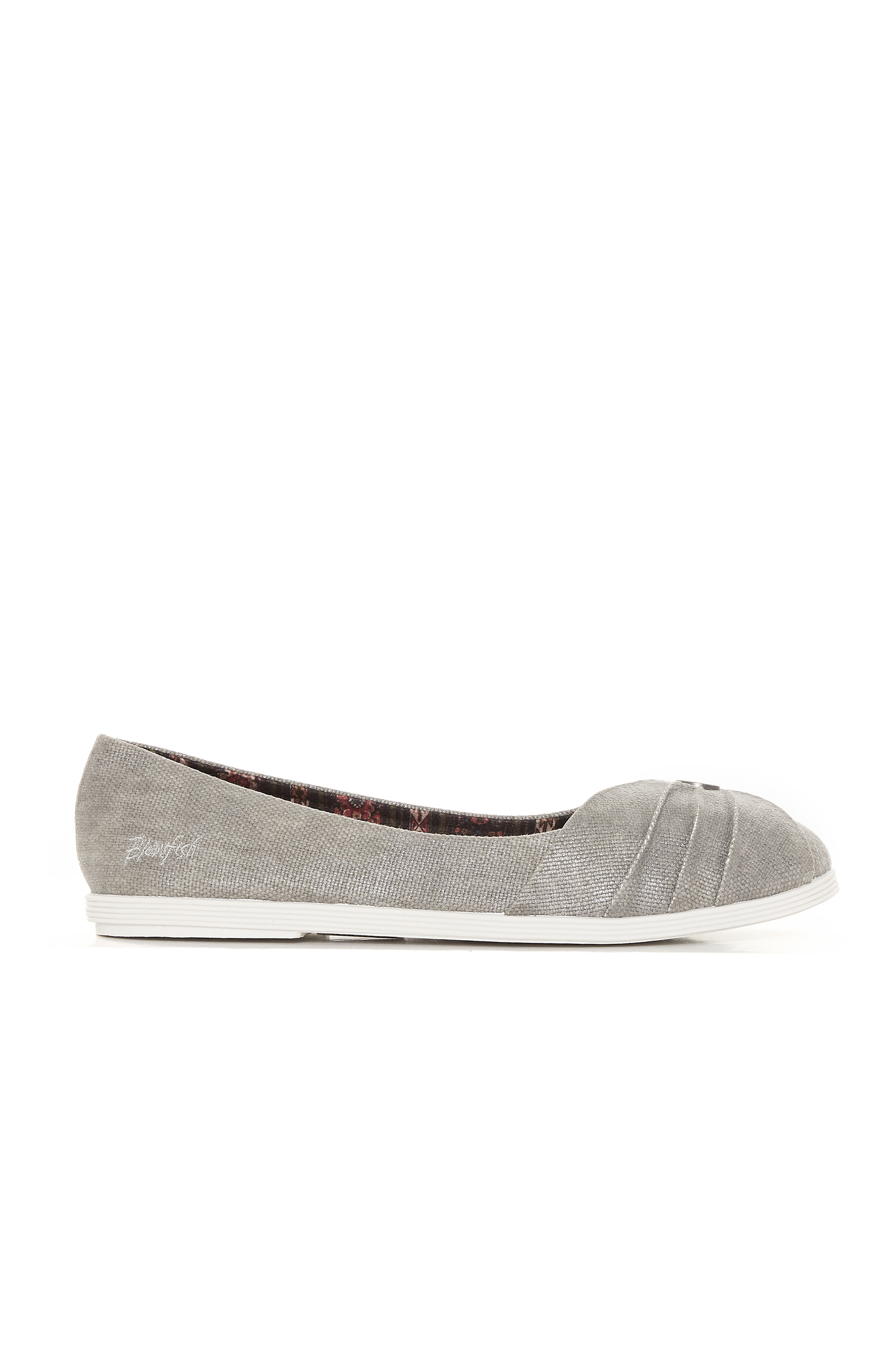 BLOWFISH Grey Galibu Flat Shoes