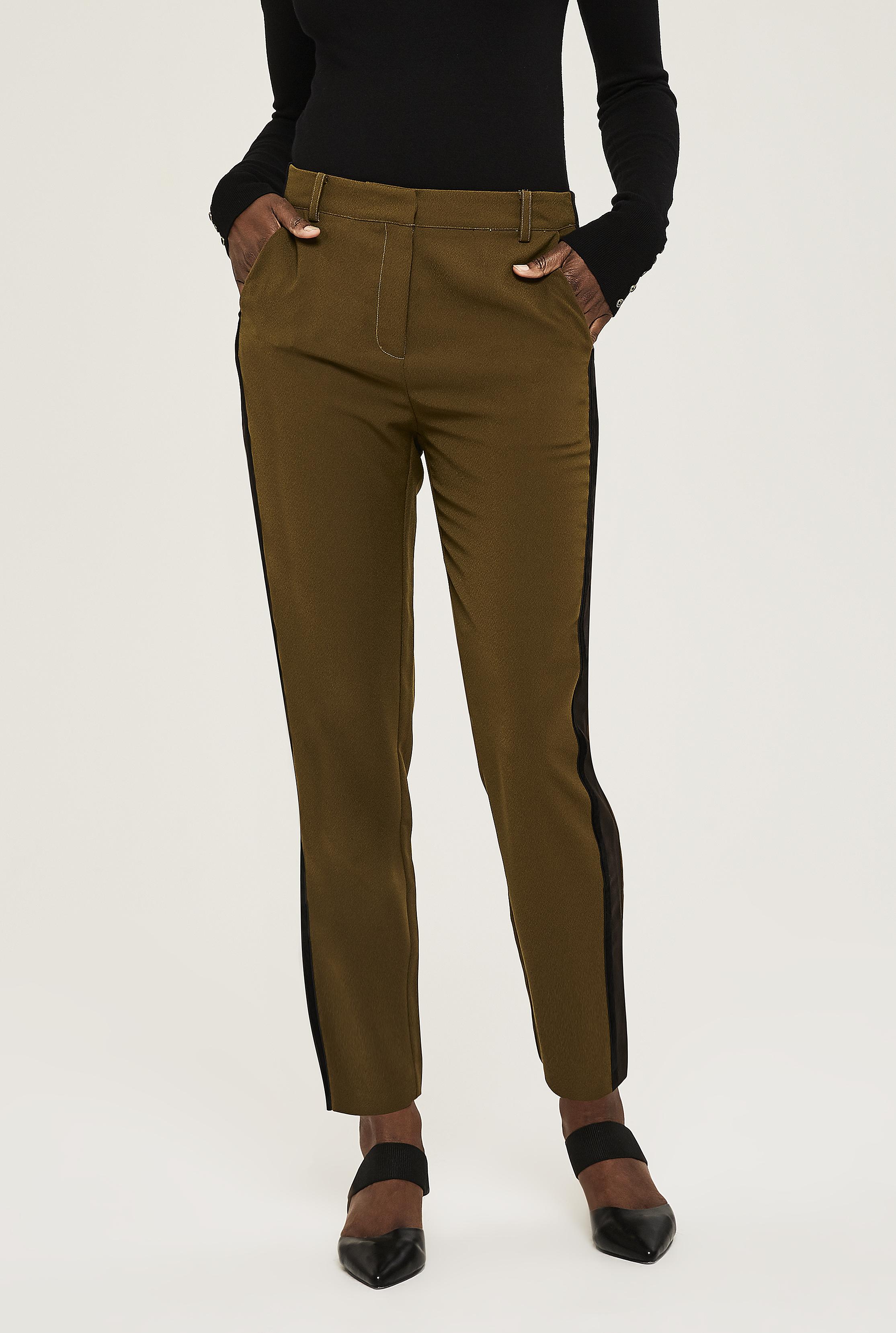 Y.A.S Tall Emma Side Stripe Trouser