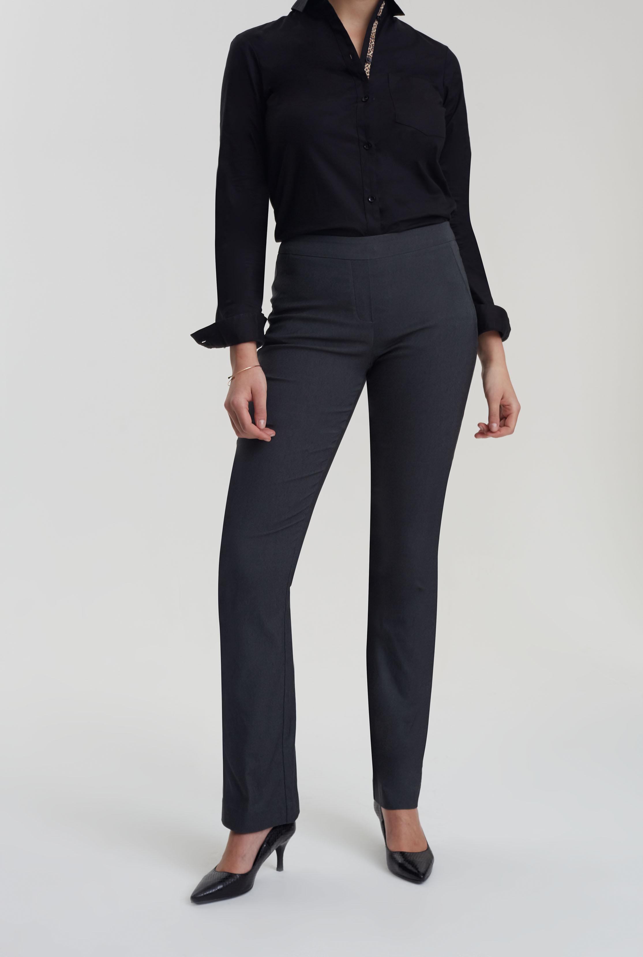 Charcoal Allegro Bootcut Trouser