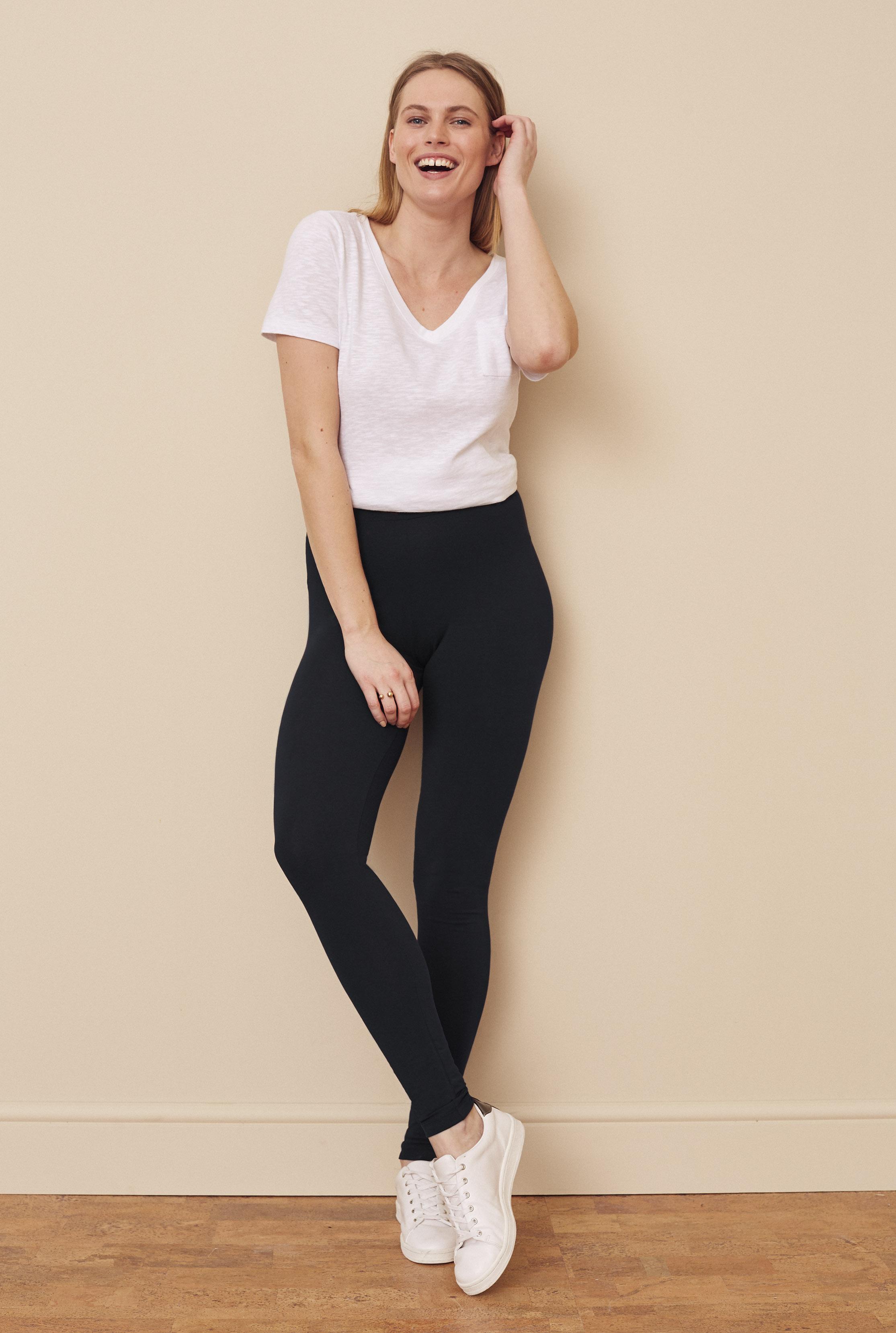Black Classic Jersey Legging