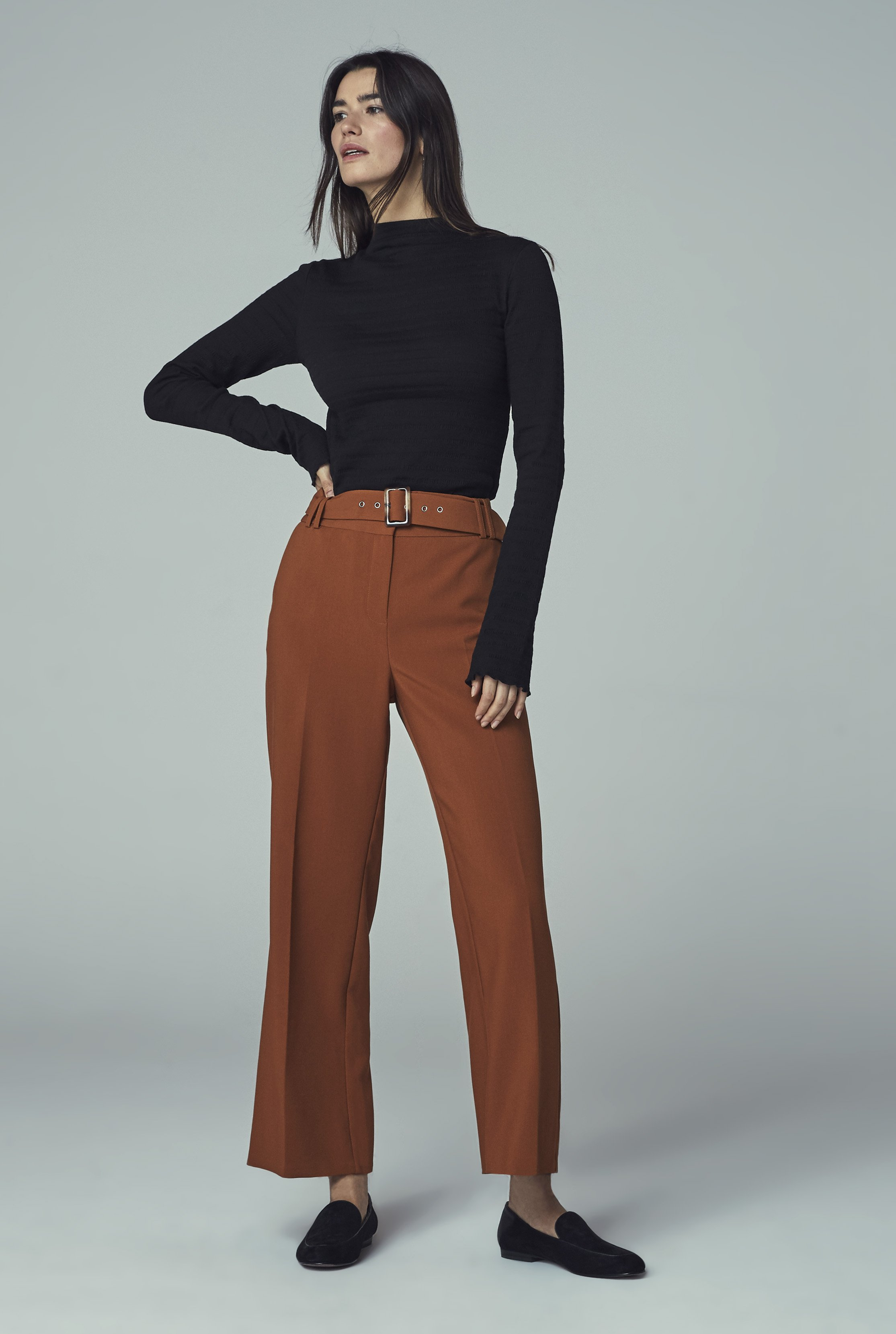 Belted Formal Culotte