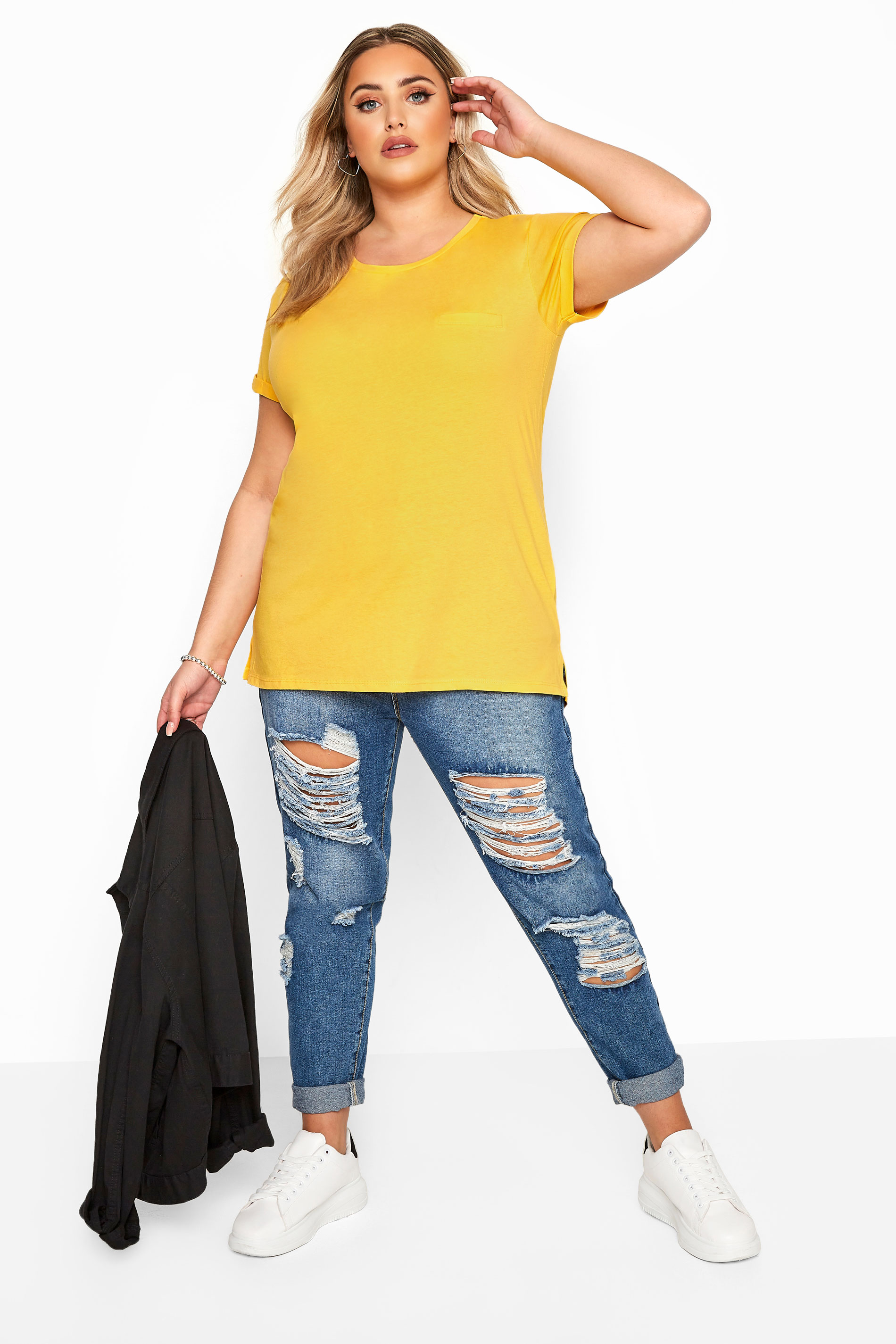Bright Yellow Pocket T-Shirt