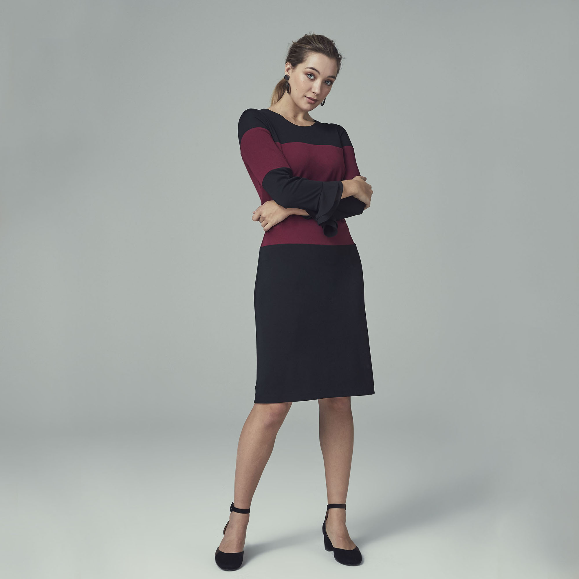 KLP Colour Block Dress