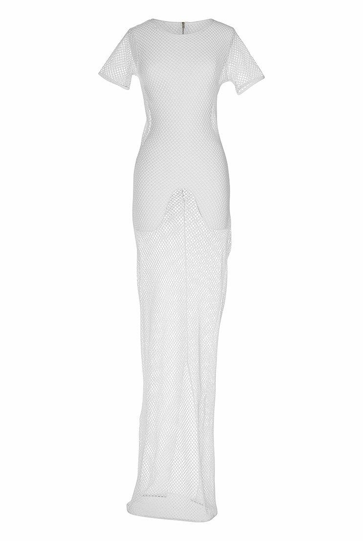 TTYA White String Maxi Dress