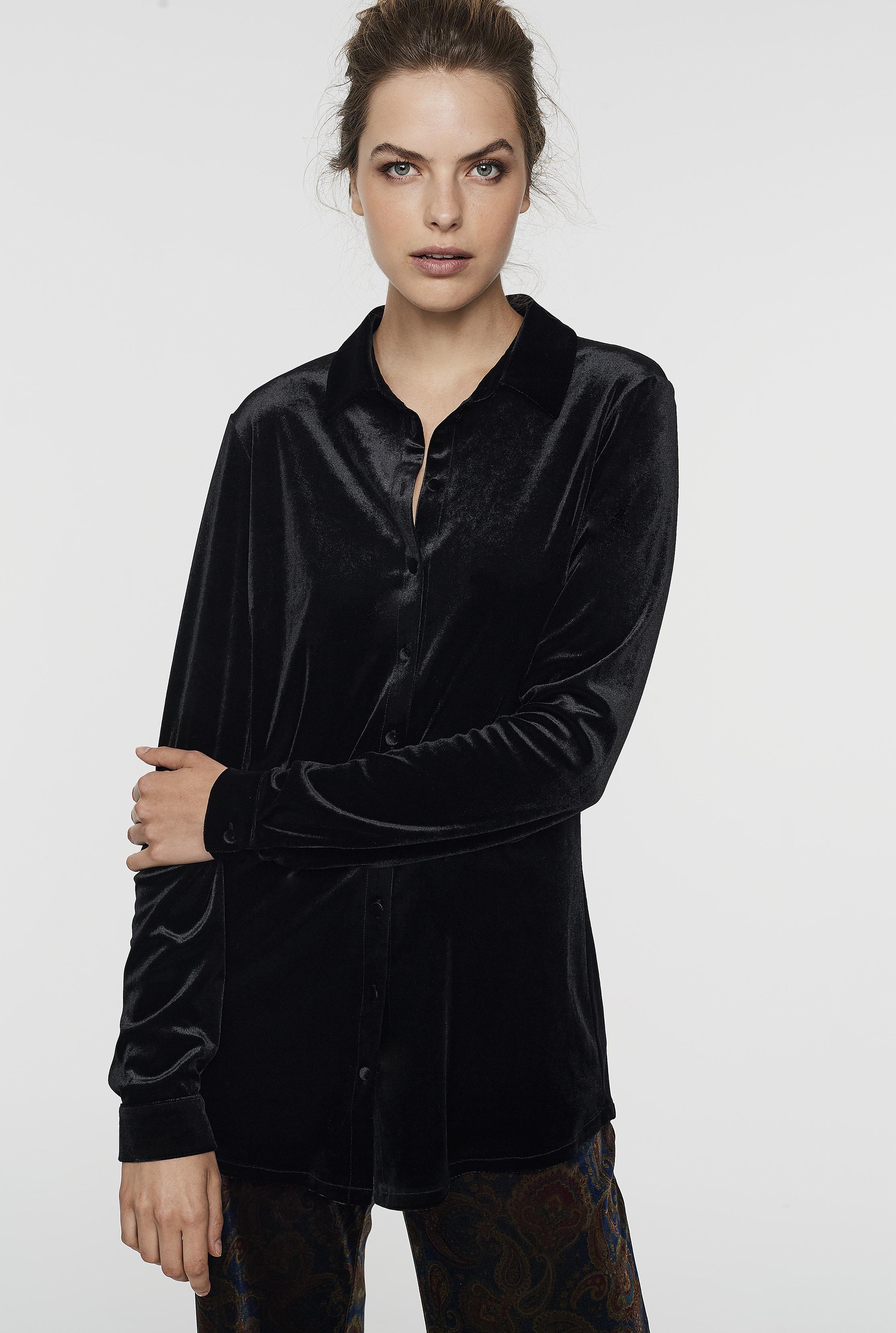 Velvet Jersey Shirt