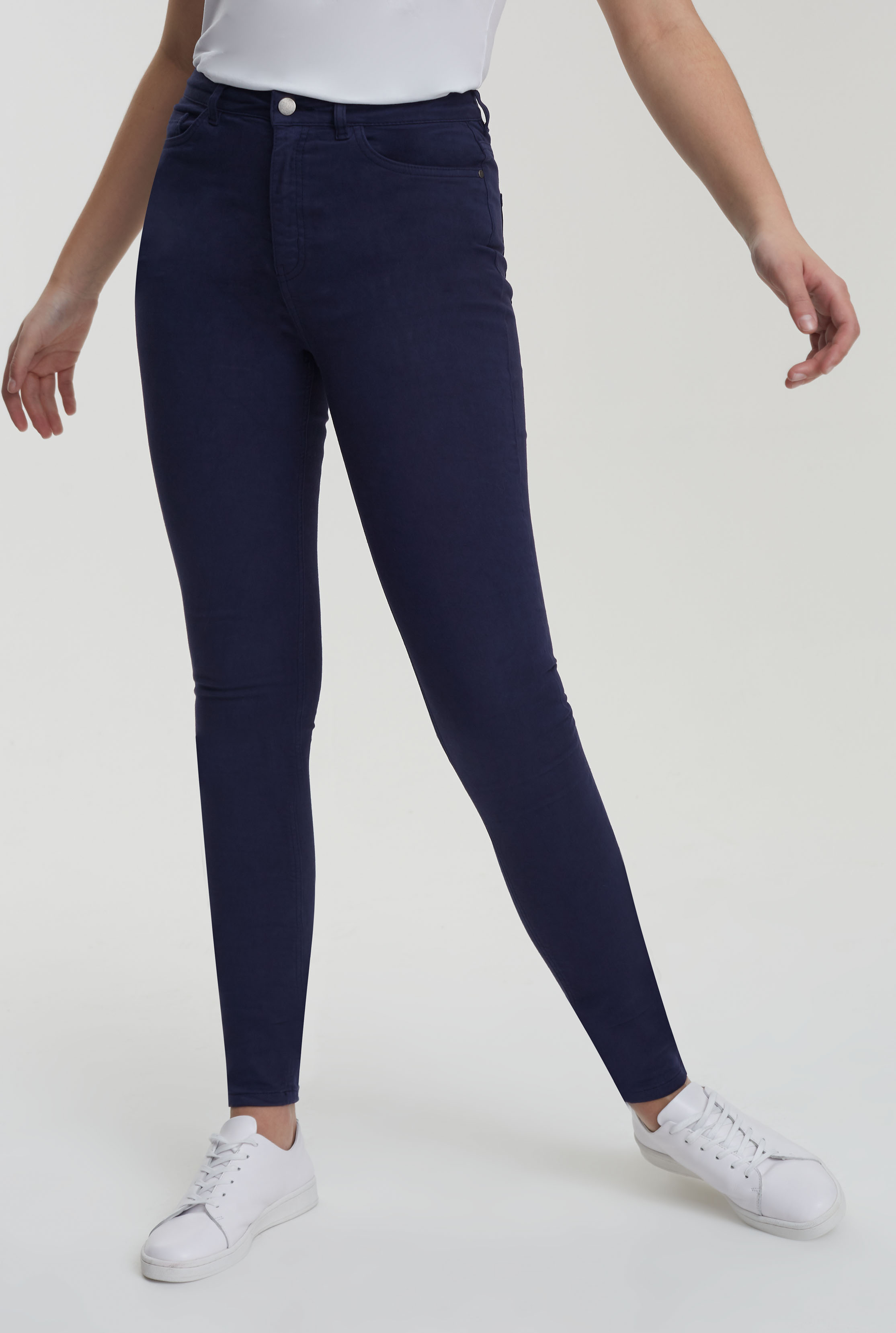 Dark Blue Ultra Stretch Skinny Jeans