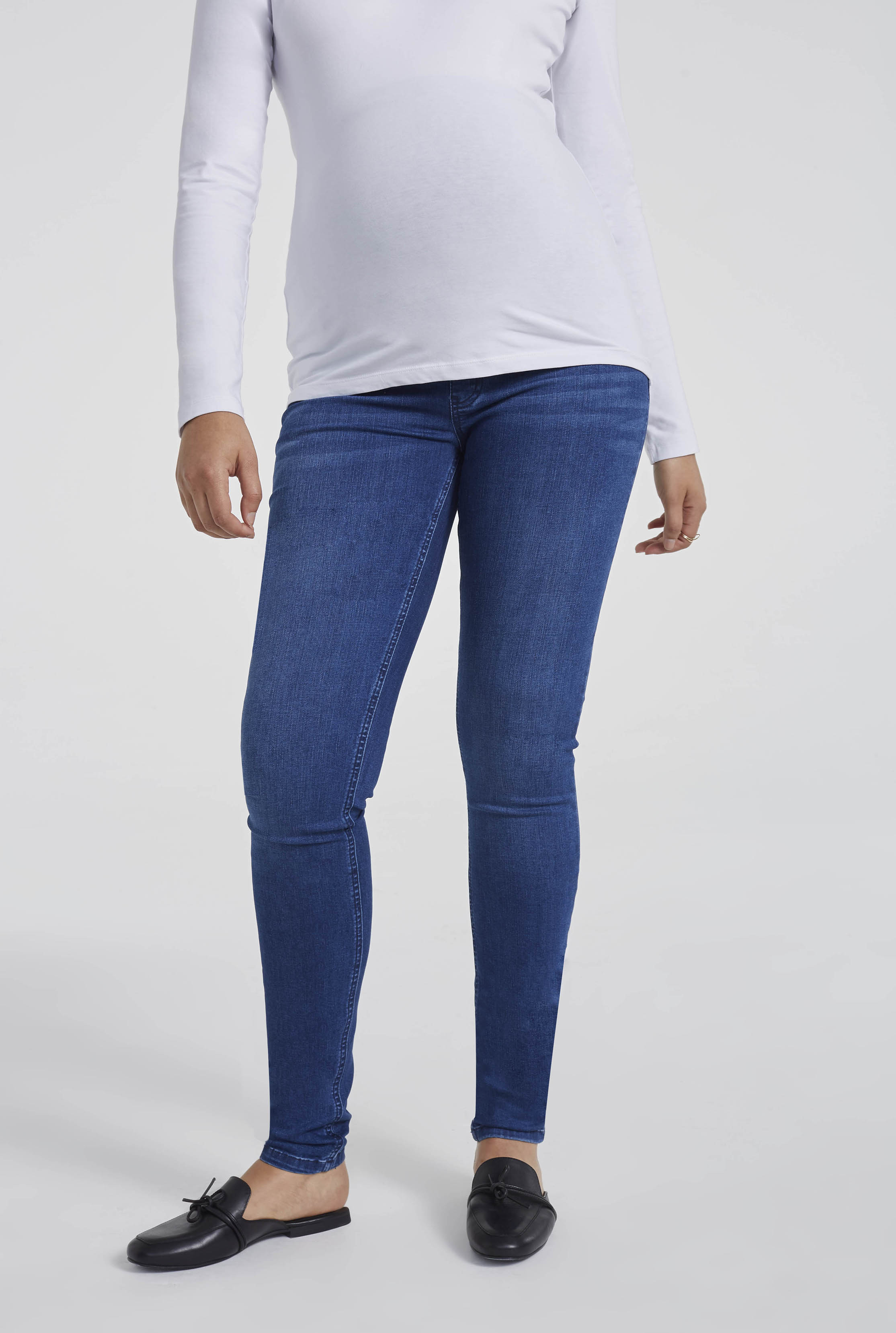 MATERNITY Blue Denim Jean