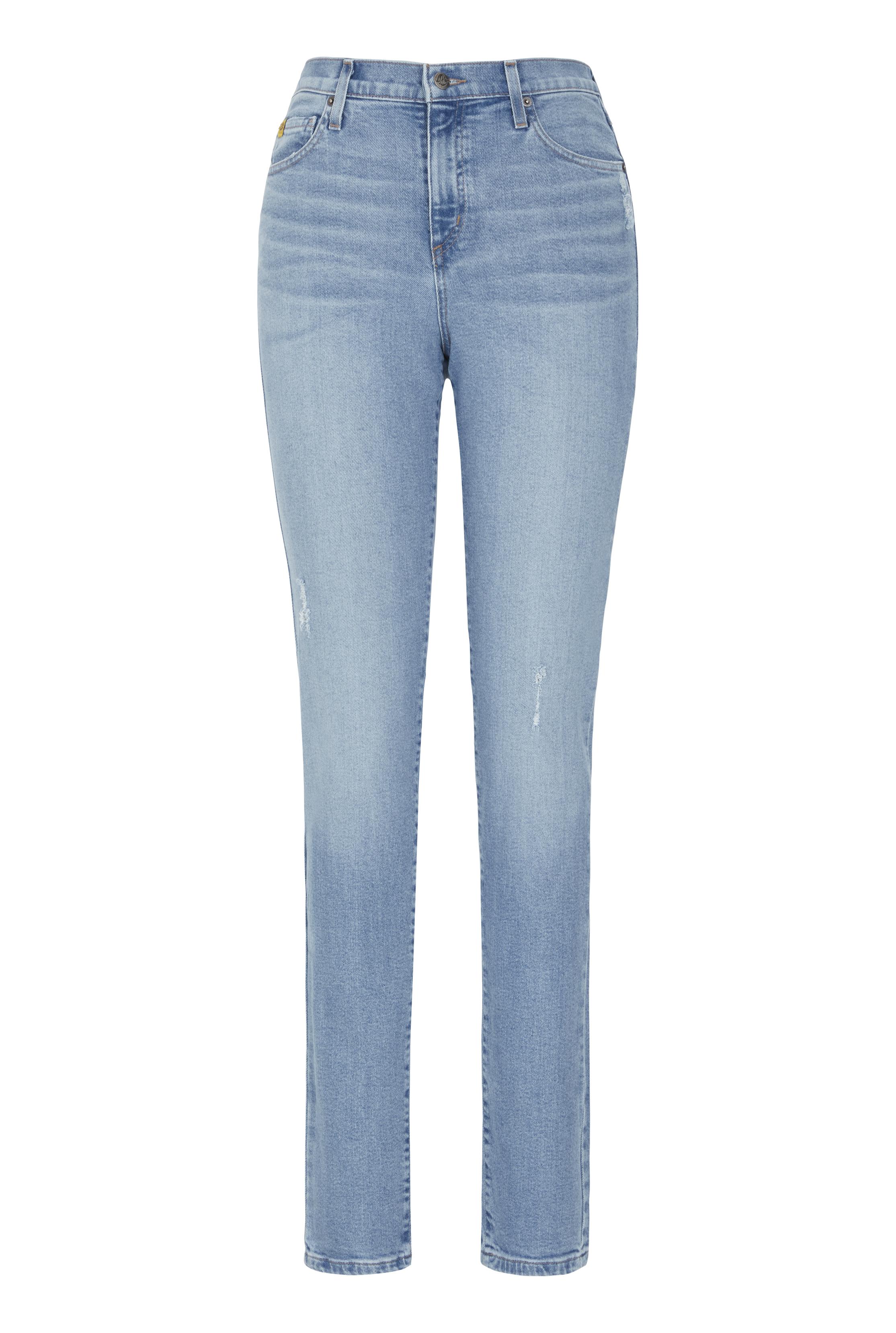 YOGA Blue Wash Slim Jean
