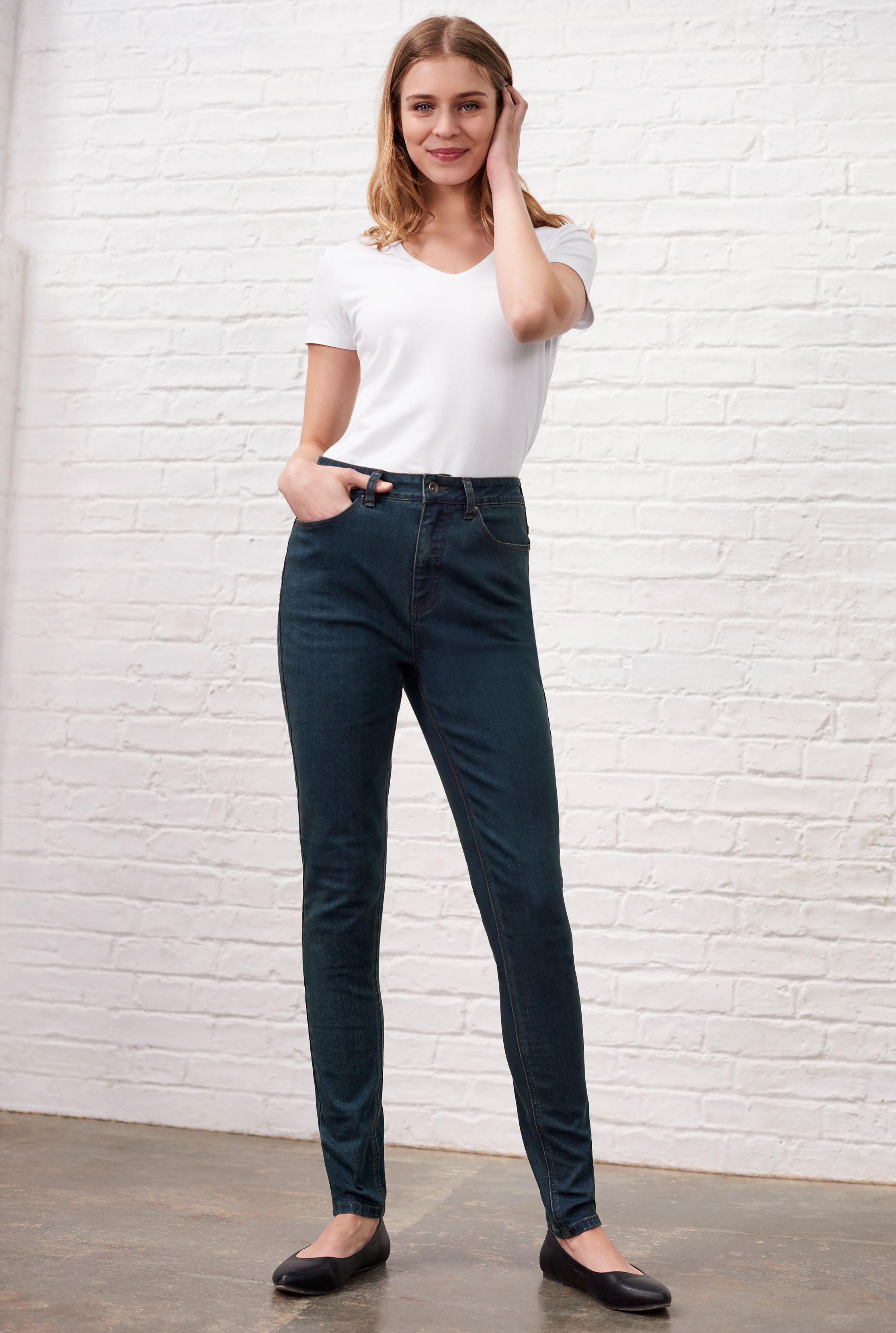 Dark Blue High Rise Skinny Jeans_1.jpg