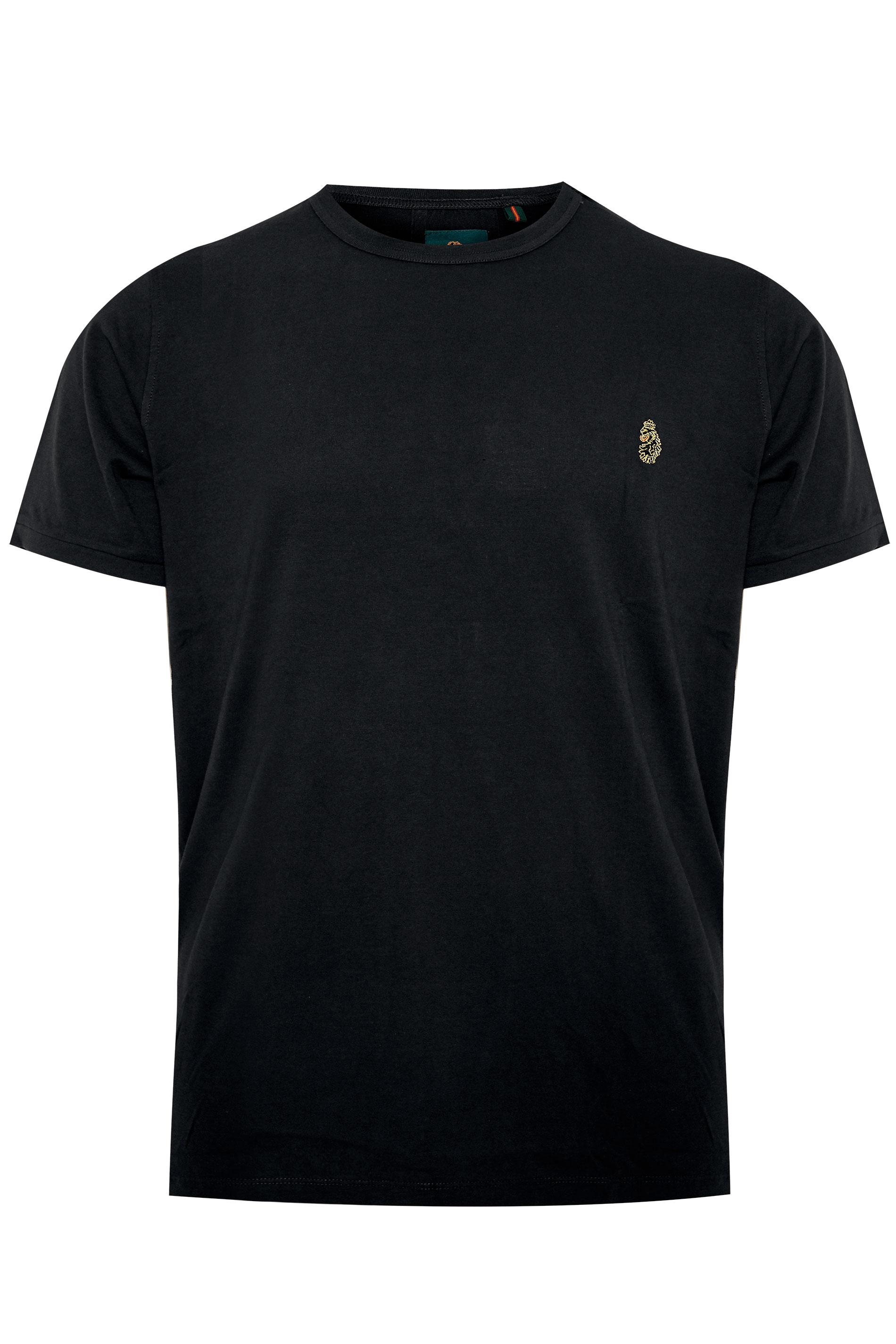 LUKE 1977 - T-shirt van katoen in zwart