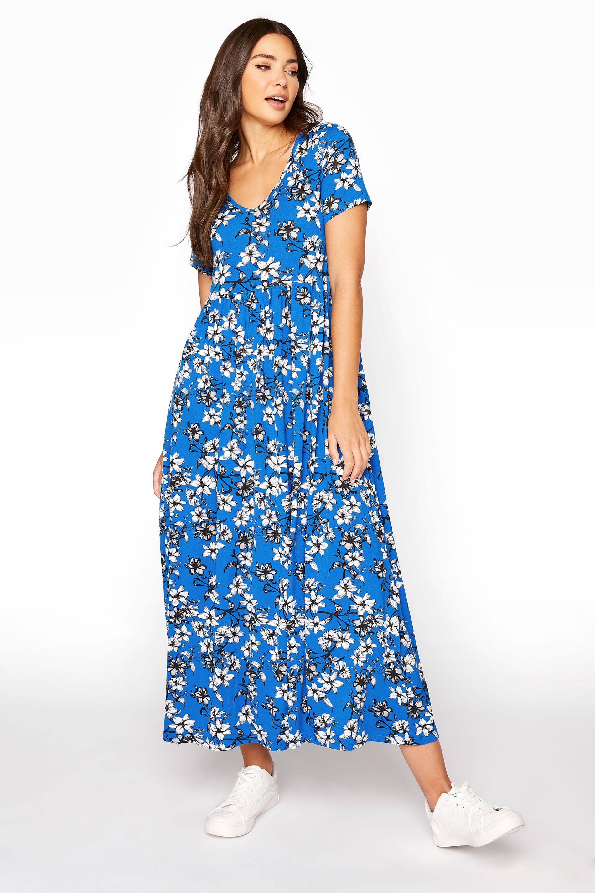 LTS Blue Floral Print Midi Dress_A.jpg