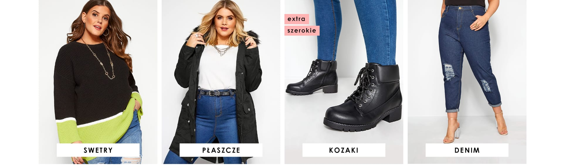 Denim, Knits, Boots, Coats
