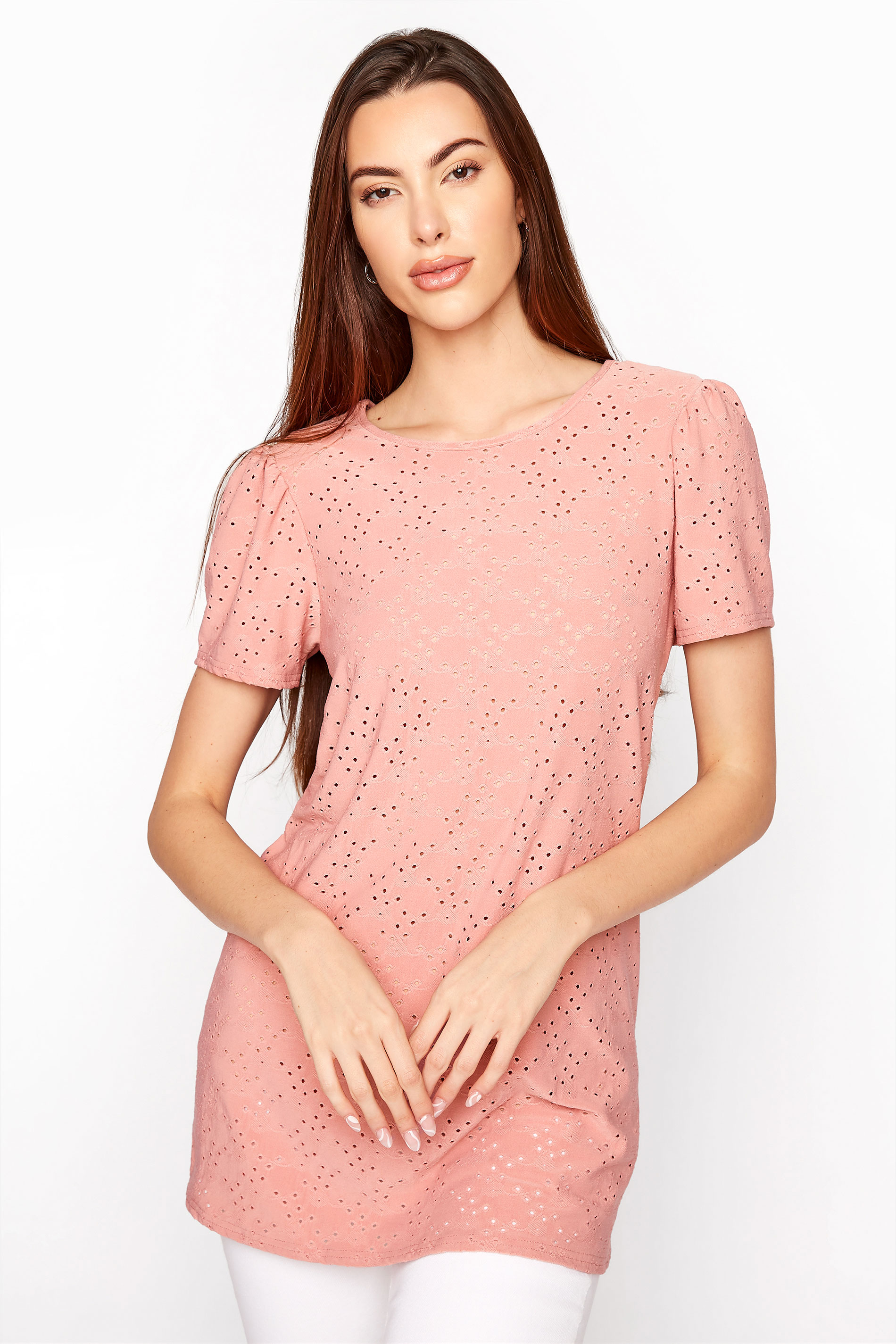 LTS Rose Pink Broidery Puff Sleeve Top_A.jpg
