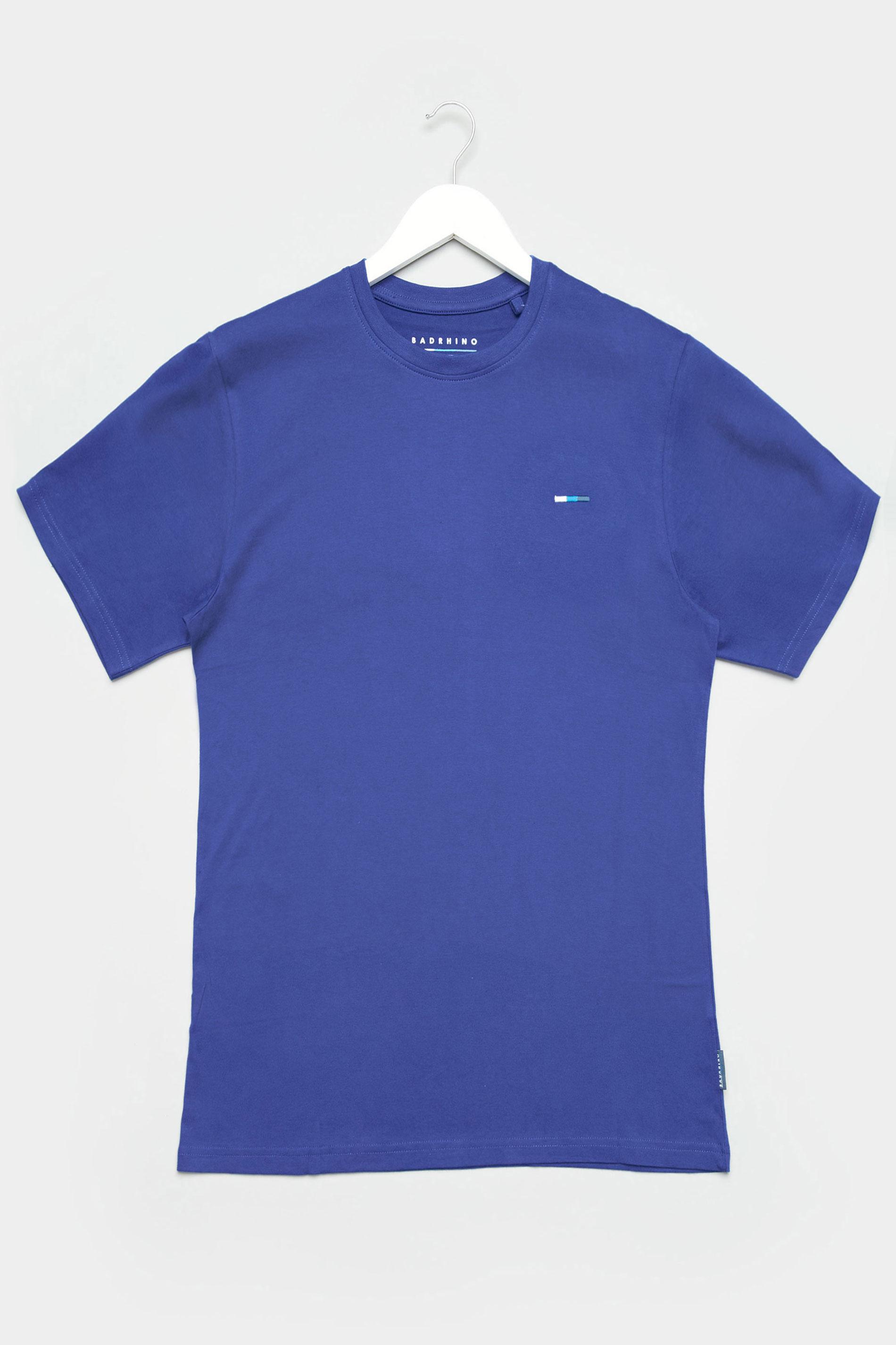 BadRhino Royal Blue Plain T-Shirt