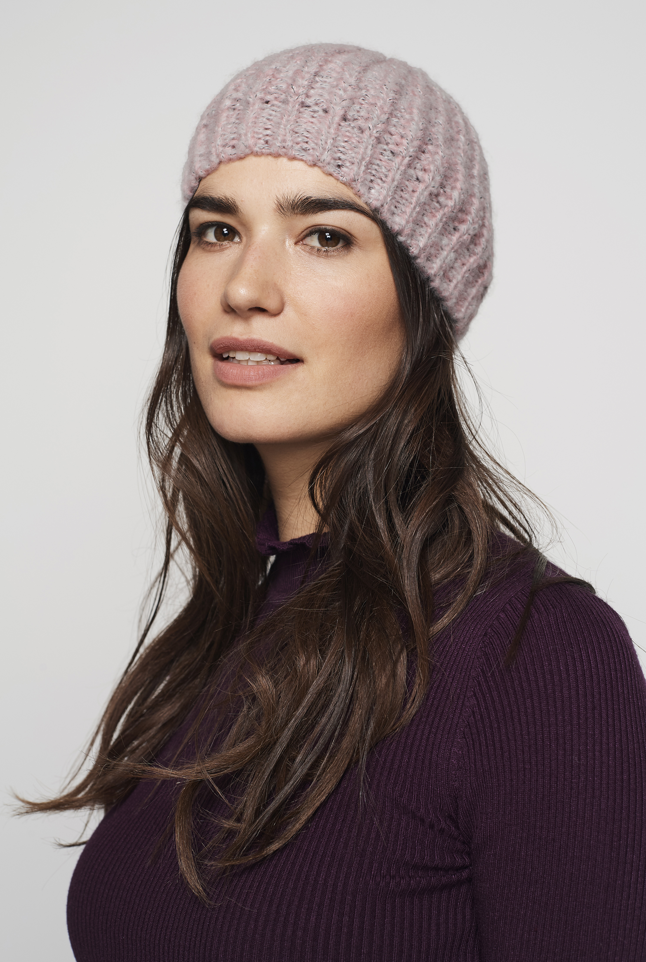 Grey Knitted Beanie