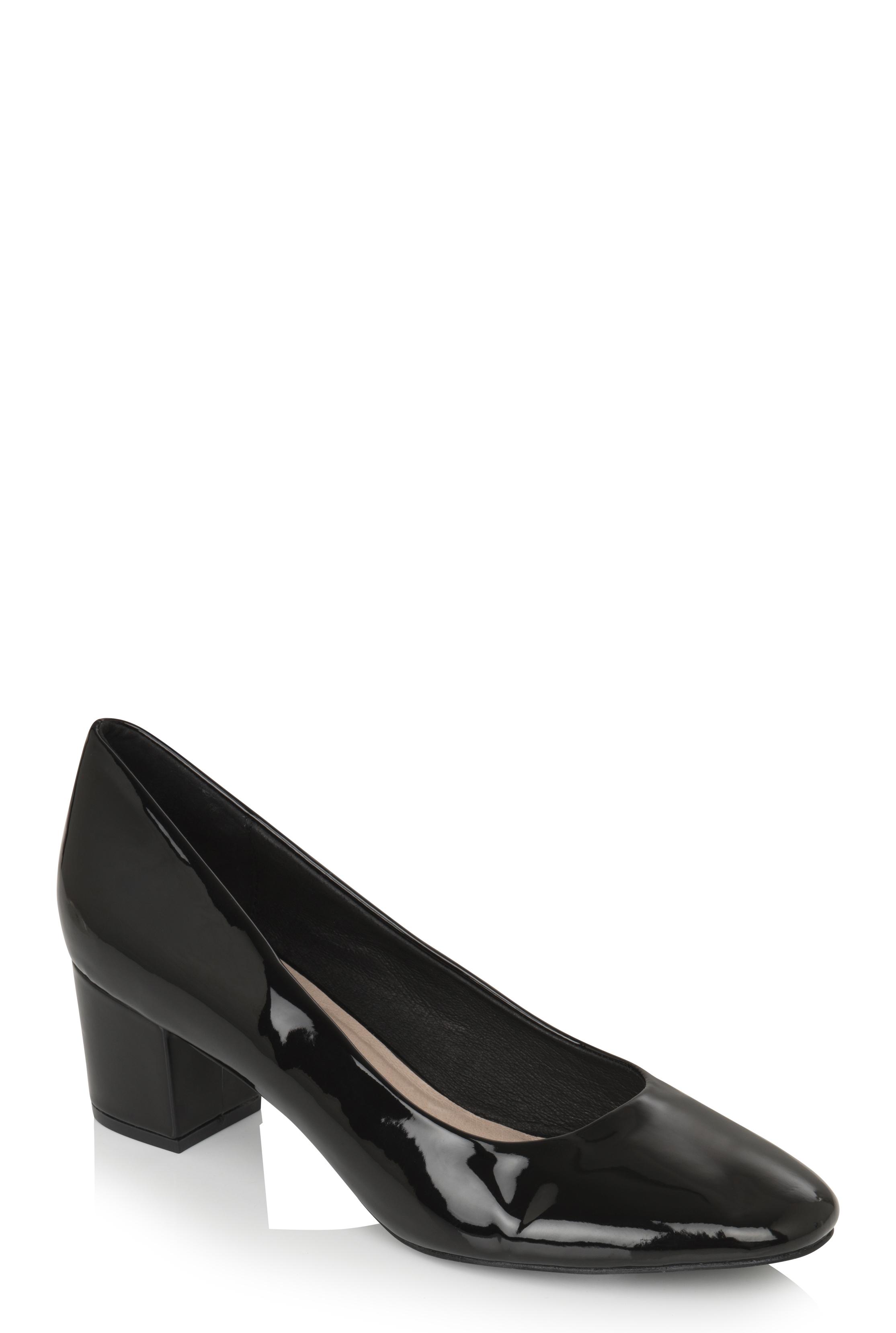 LTS Black Adeline Block Heel