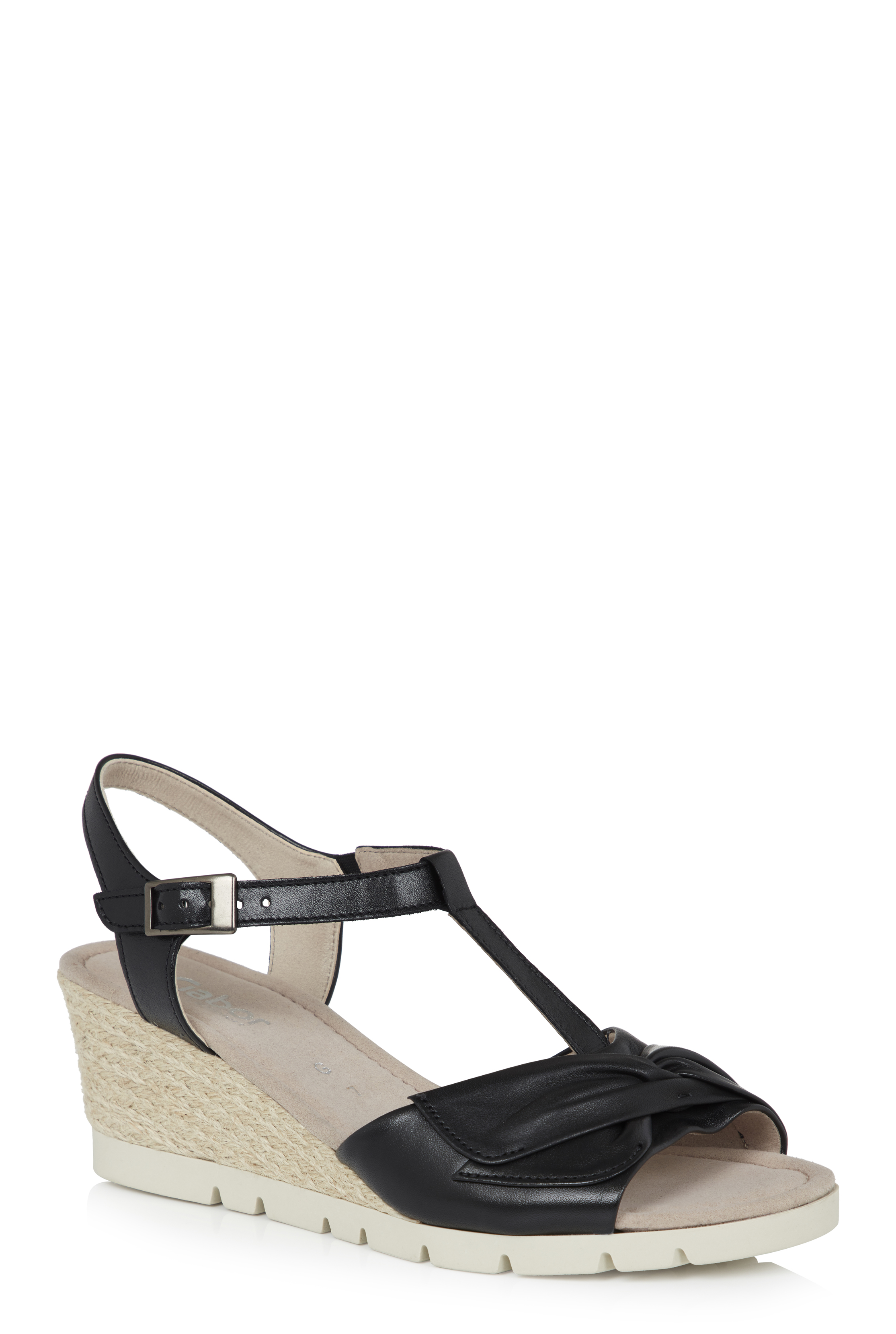 Gabor Grantchester Knot Detail Wedge