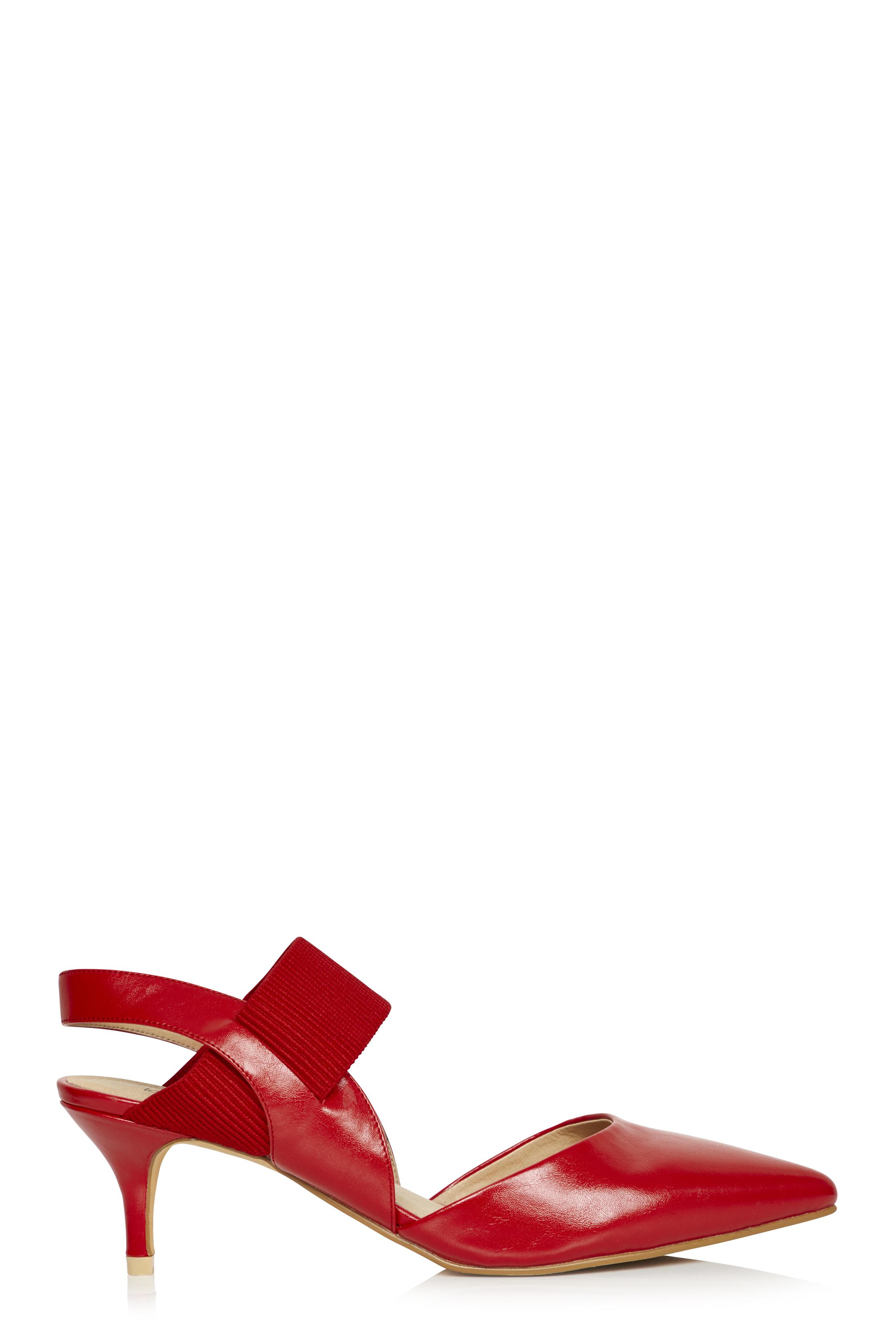 LTS Rebecca Kitten Heel Slingback