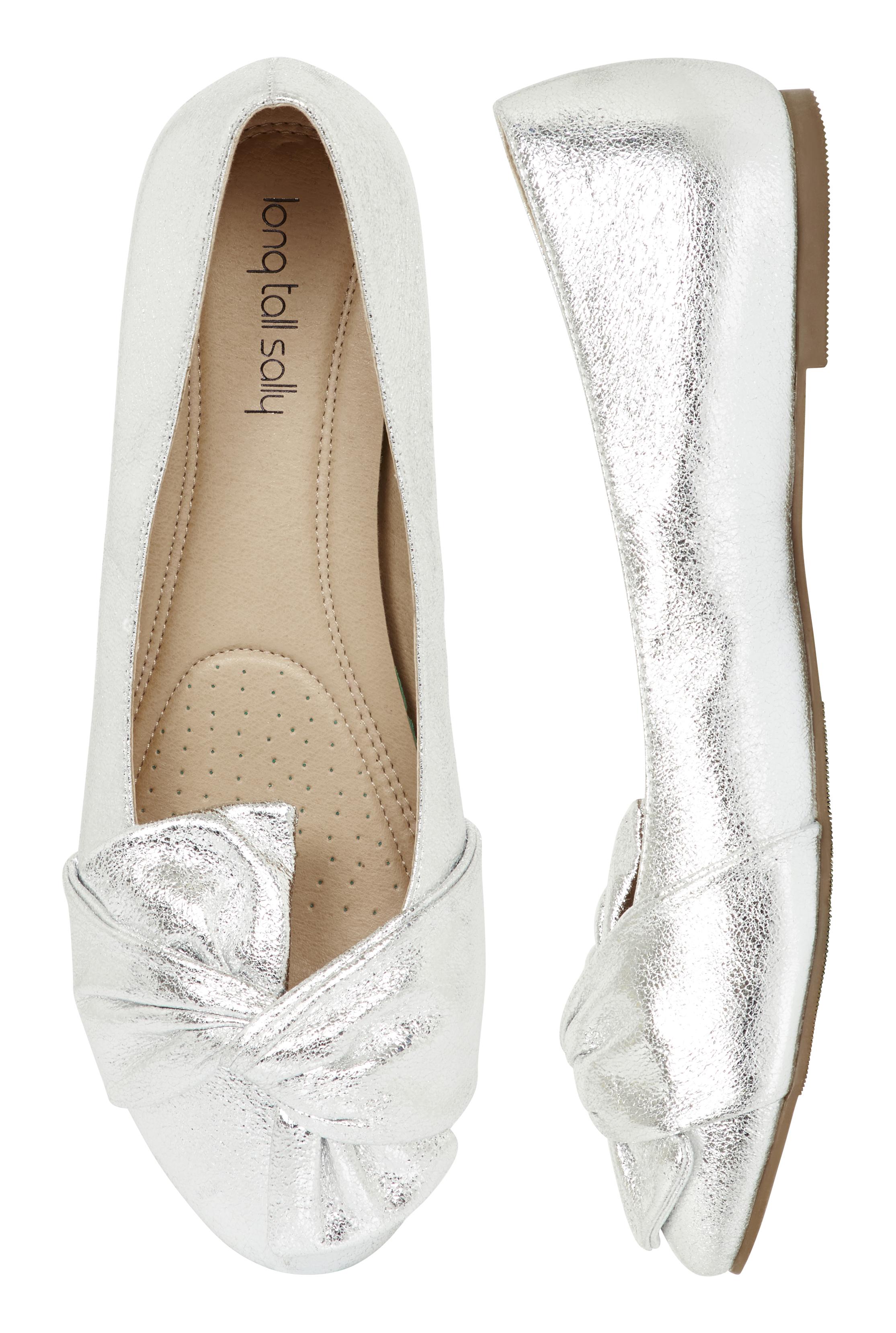LTS Eva Twist Detail Comfy Ballerina