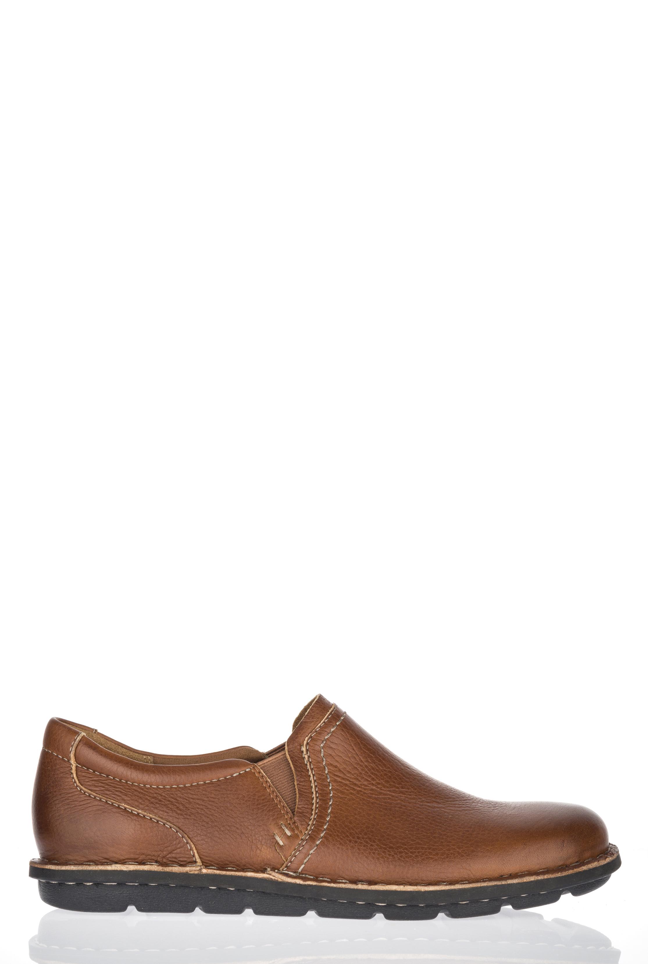Clarks Janice Barrie Tan Flat Shoe