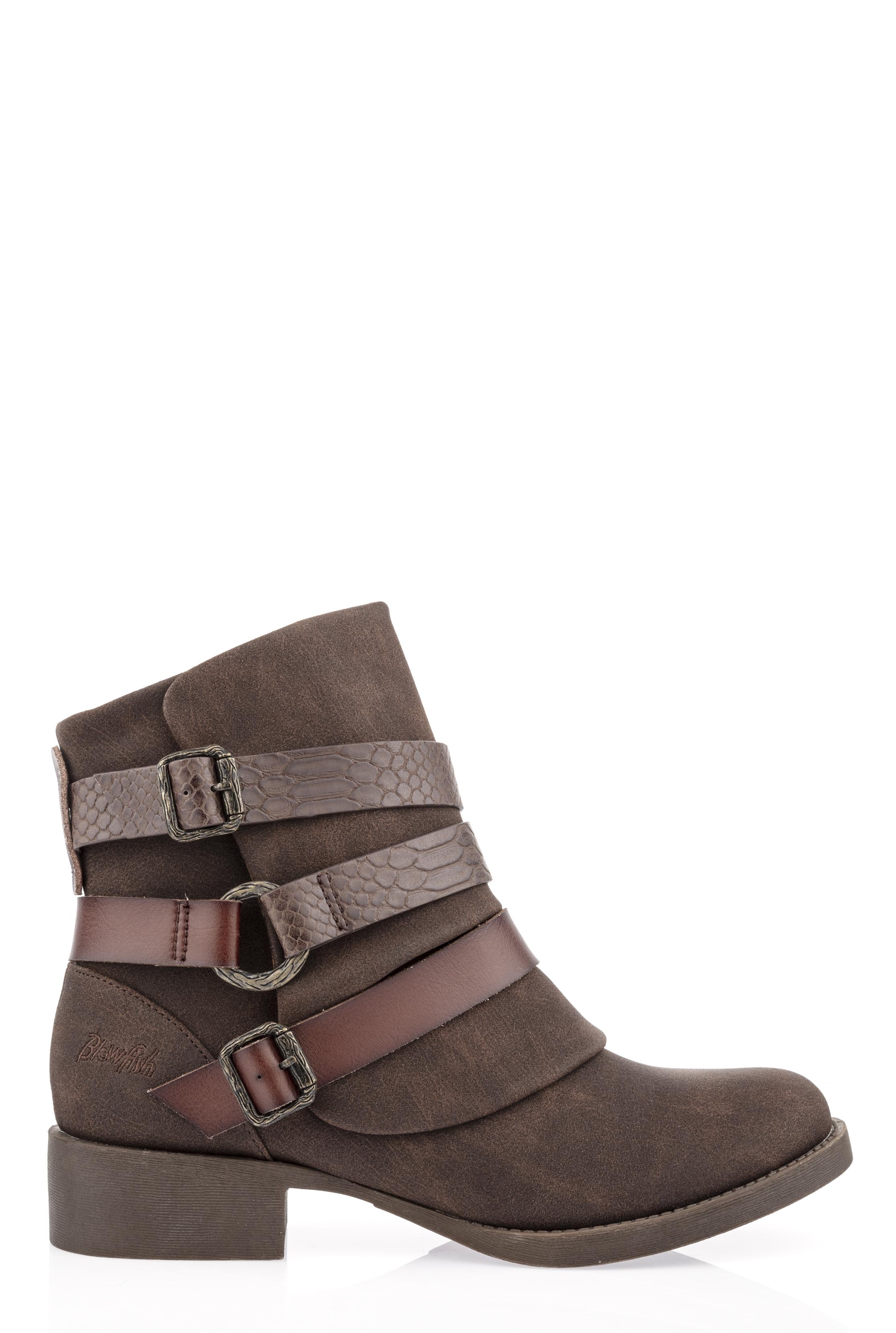 Brown Blowfish Kado Ankle Boots