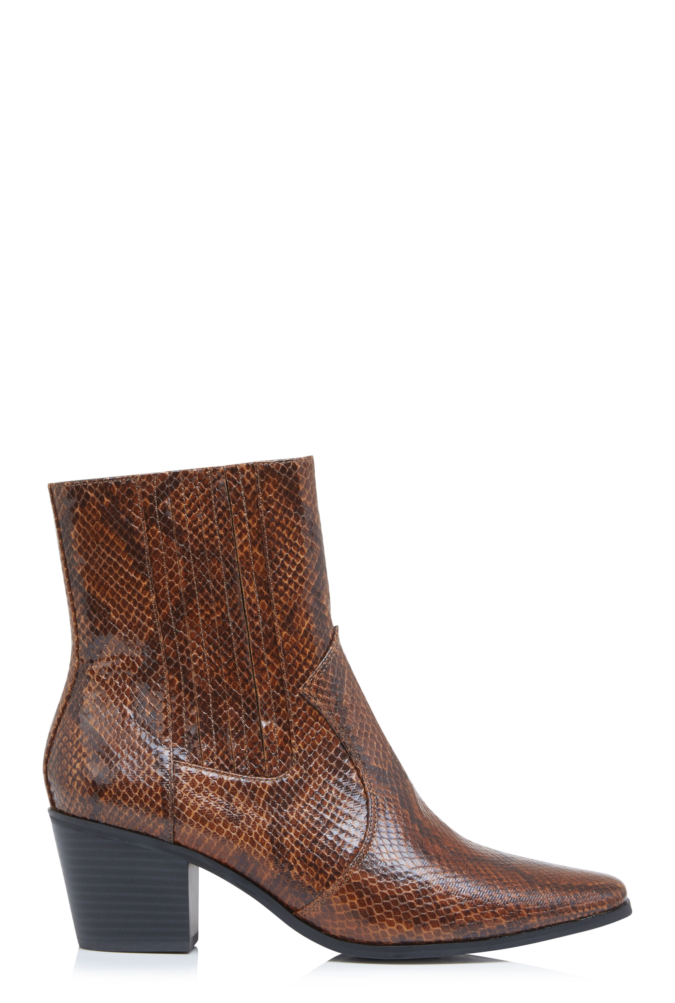 LTS Tan Sari Elasticated Western Boot