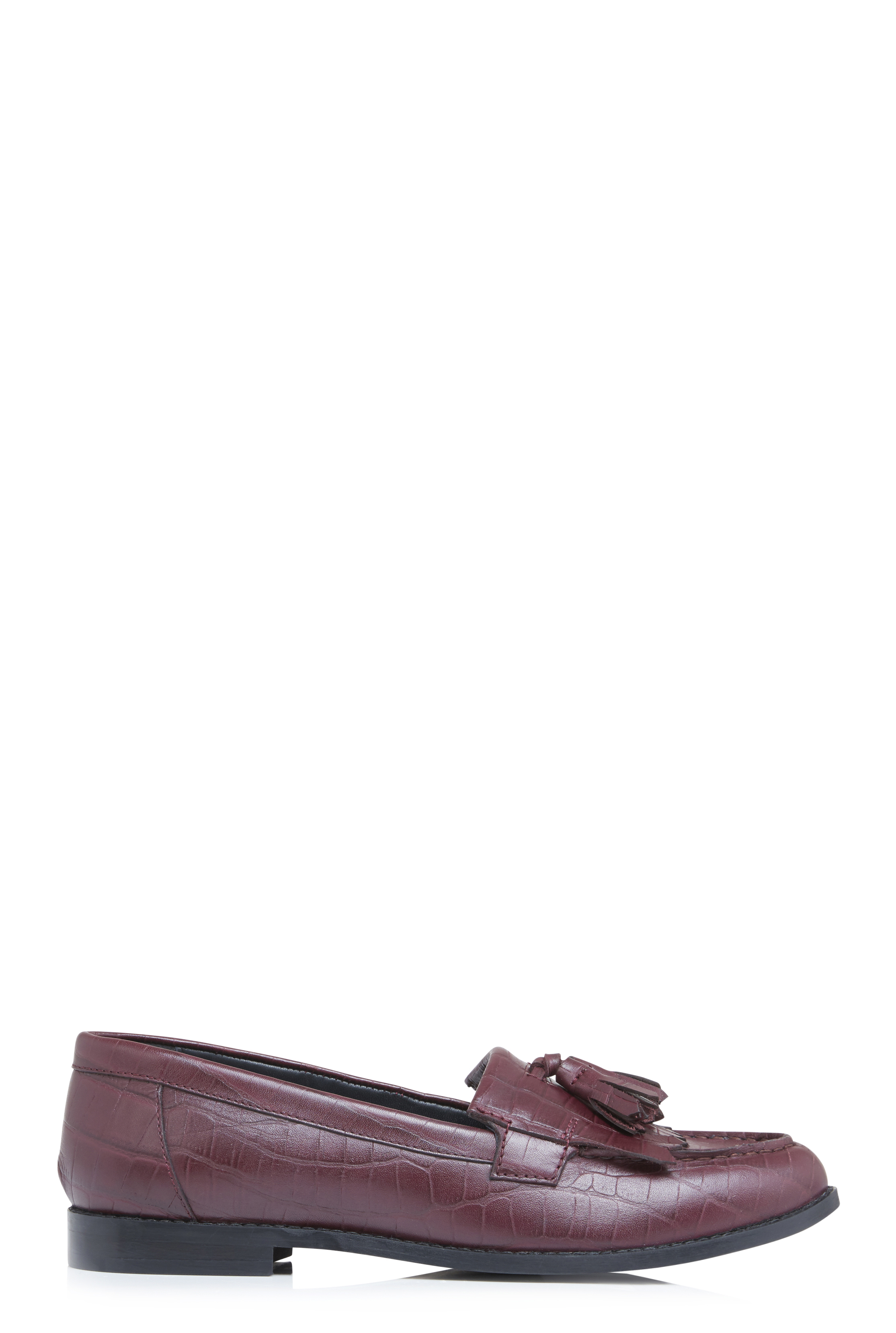 LTS Kira Tassel Trim Leather Loafer