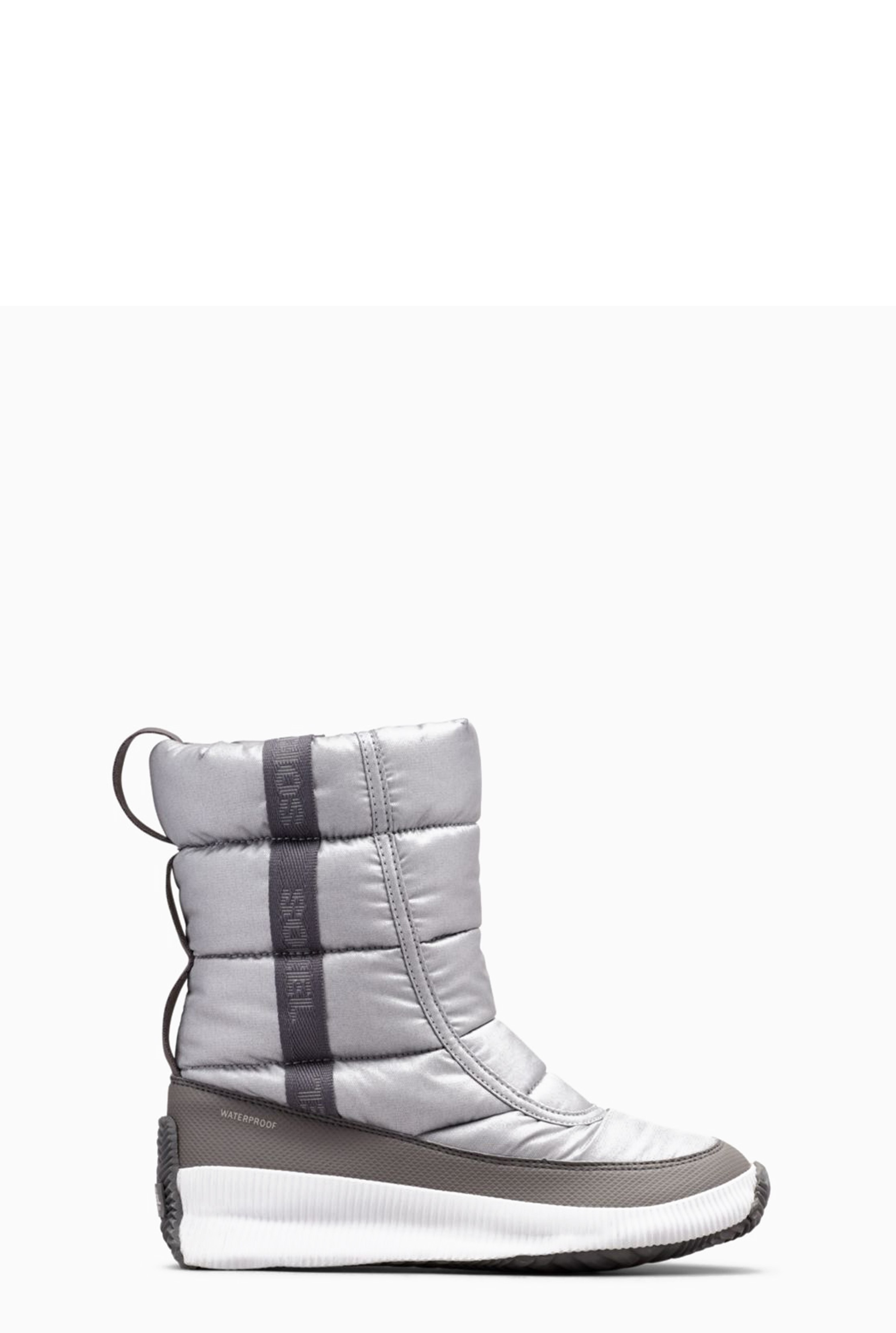 Sorel Grey Out N About Puffy Boot