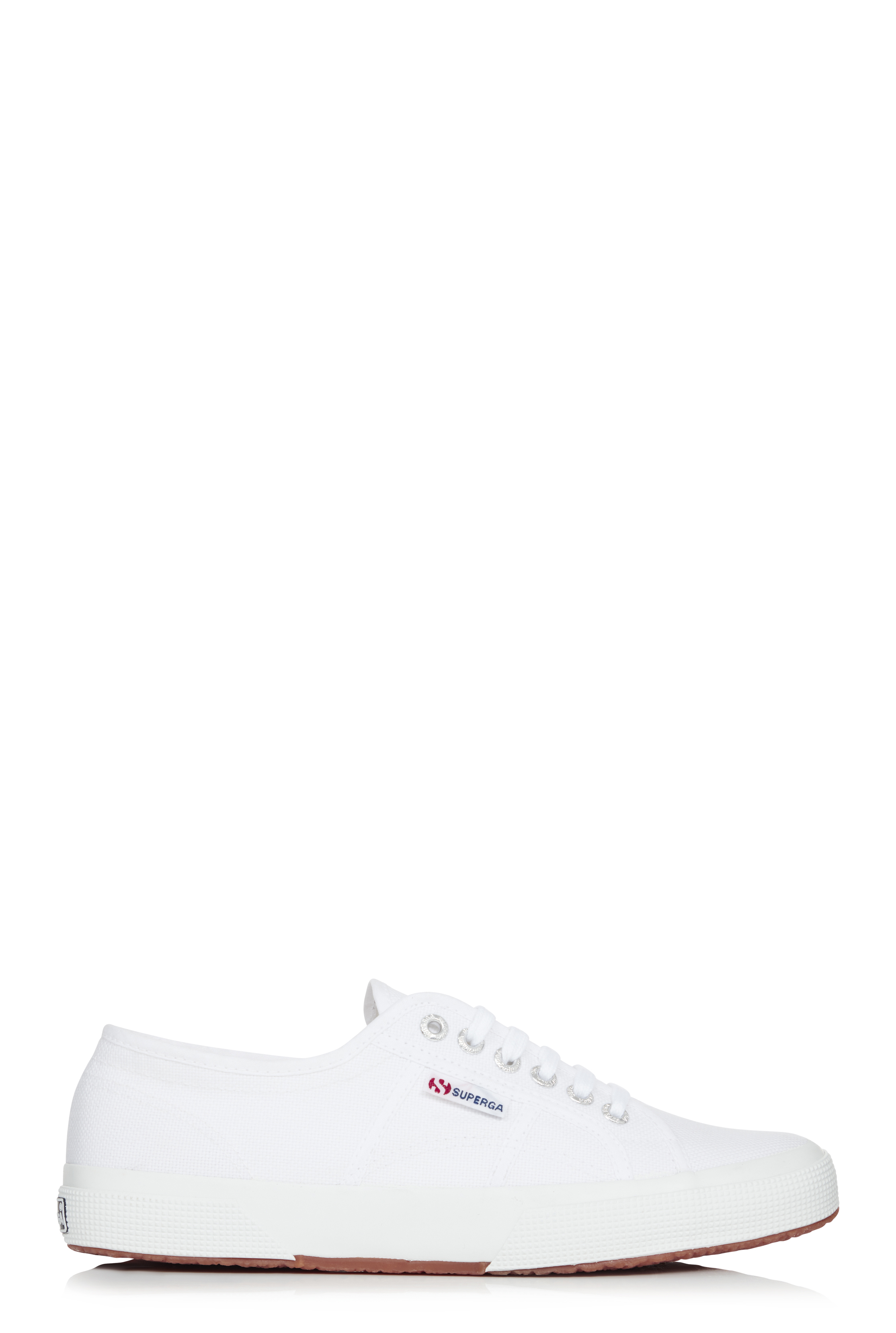 Superga White 2750 Cotu Trainers