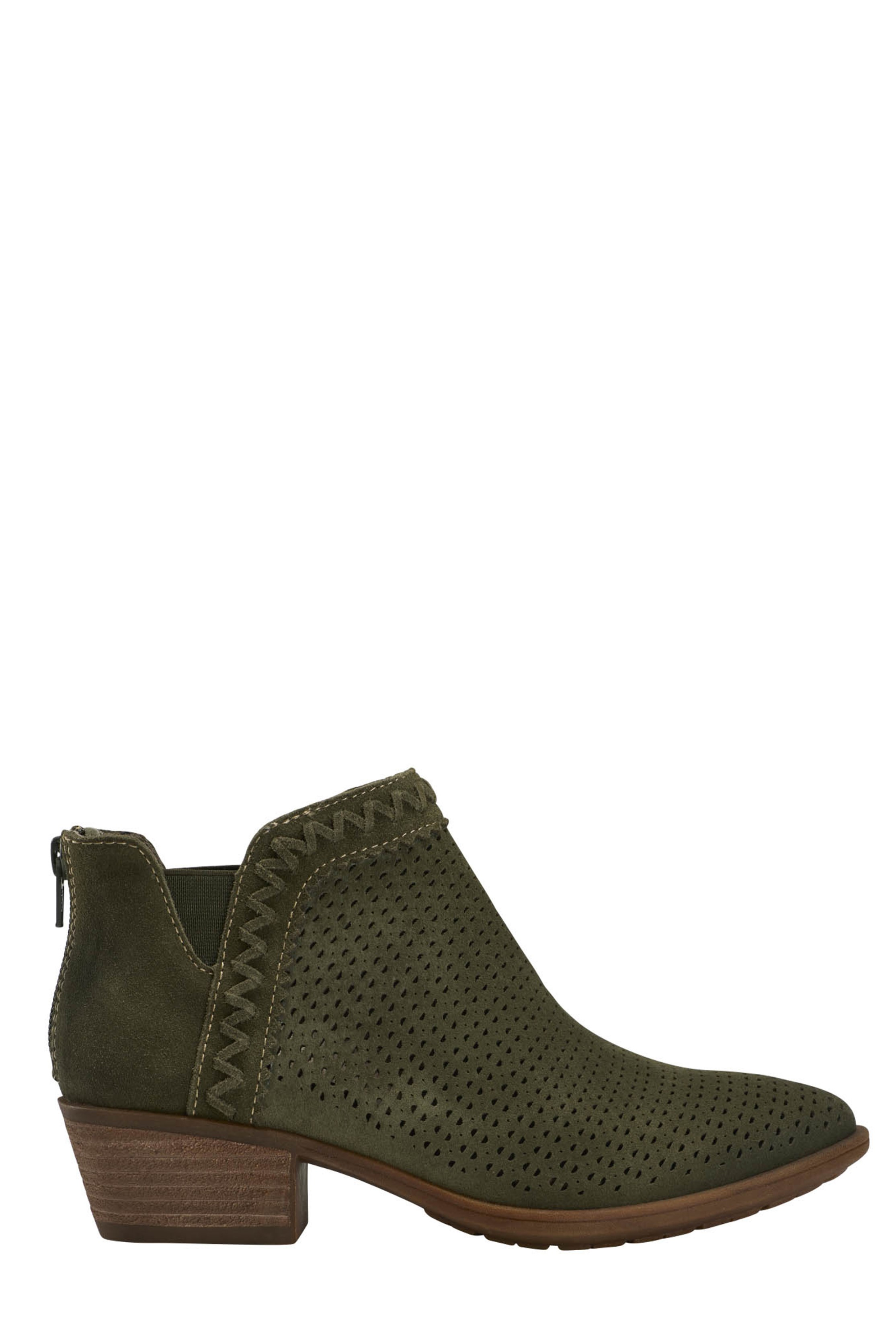 EARTH Green Perry Ankle Boot