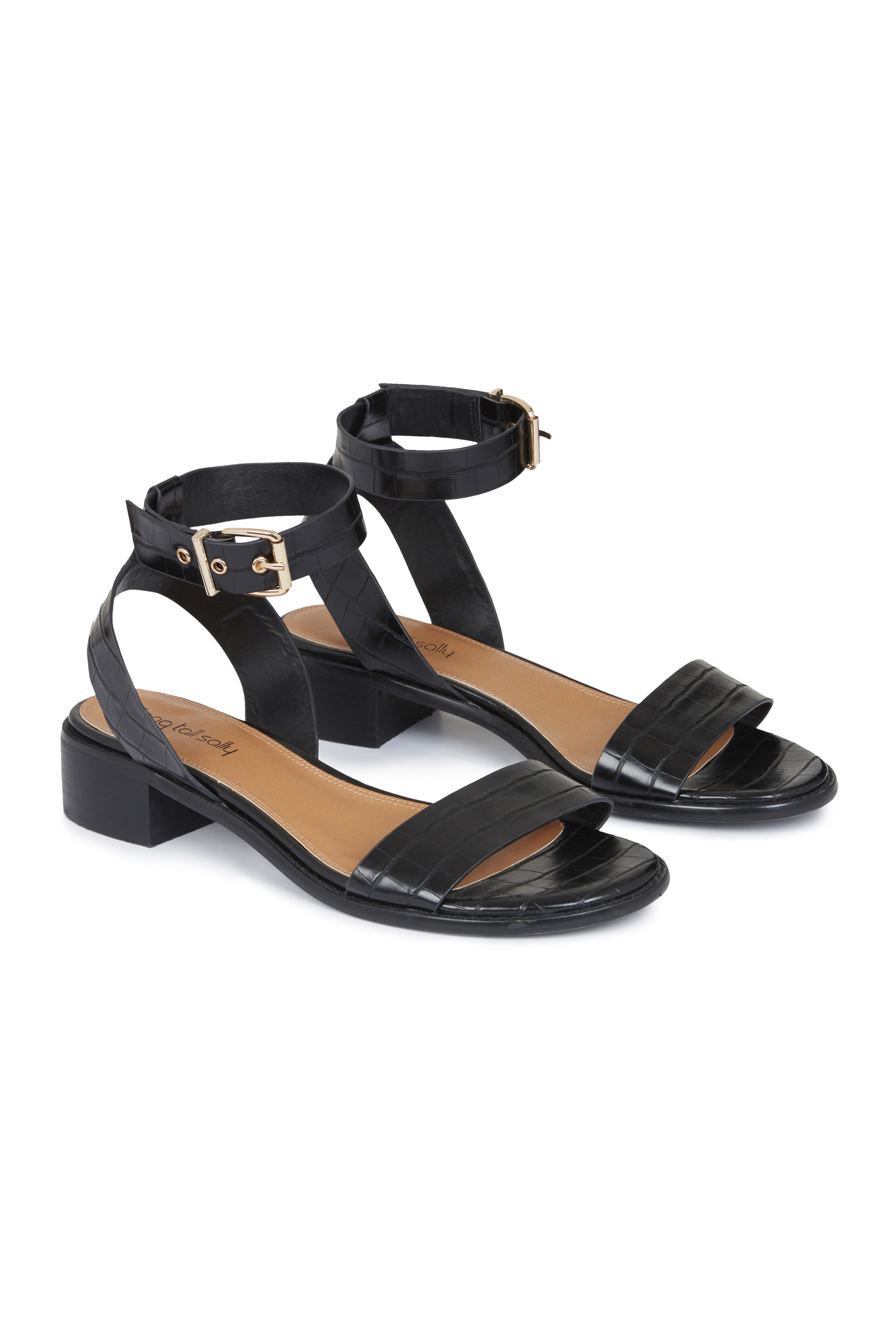 LTS Shruti Two Part Block Heel Sandal