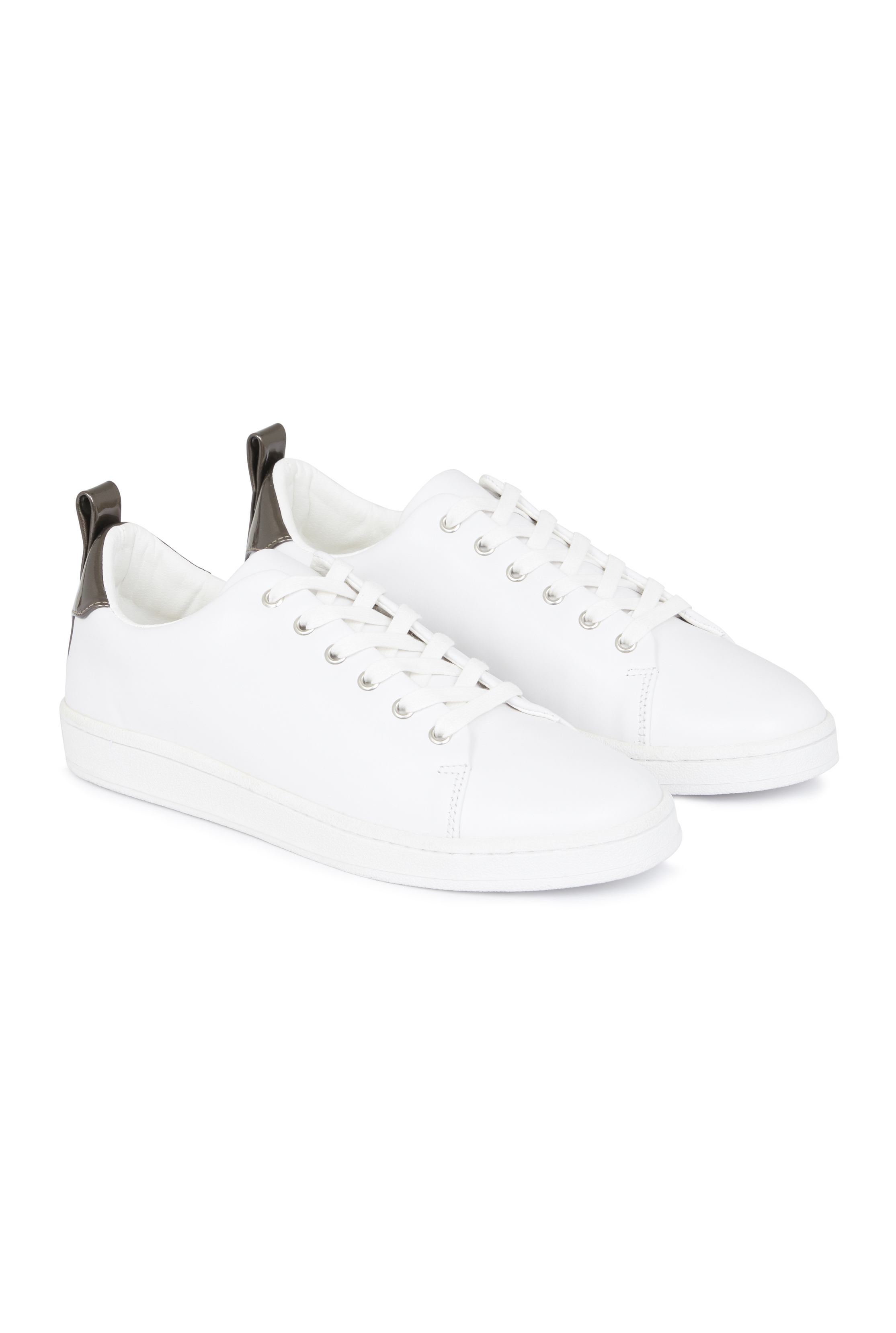 LTS Veronica Leather Lace Up Trainer