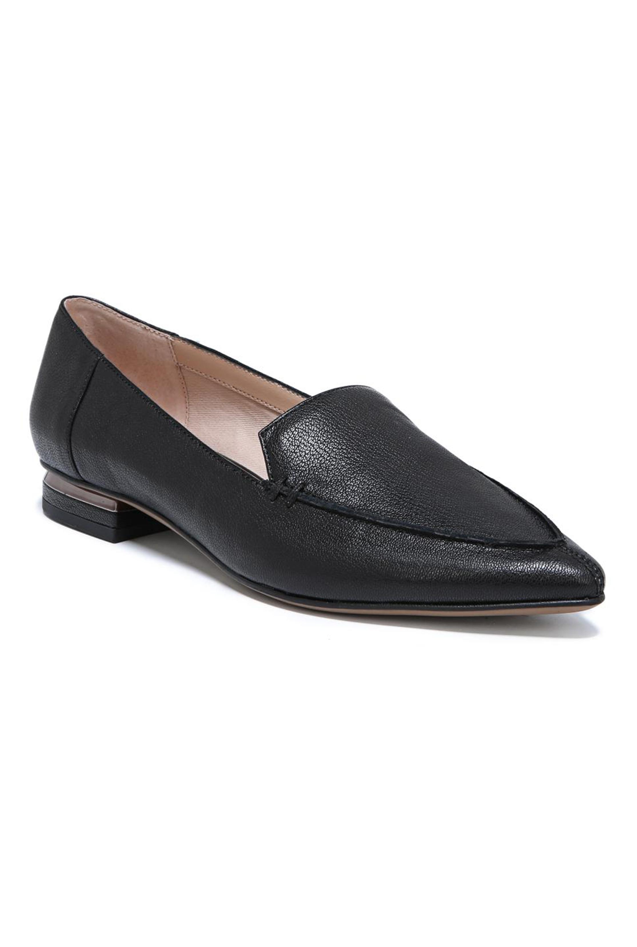 FRANCO SARTO Black Starland Flat Shoe