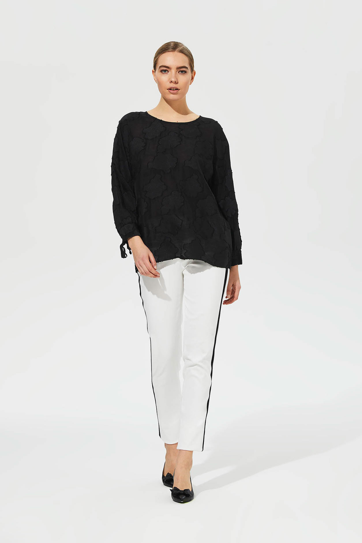 Karl Lagerfeld Paris Burnout Top