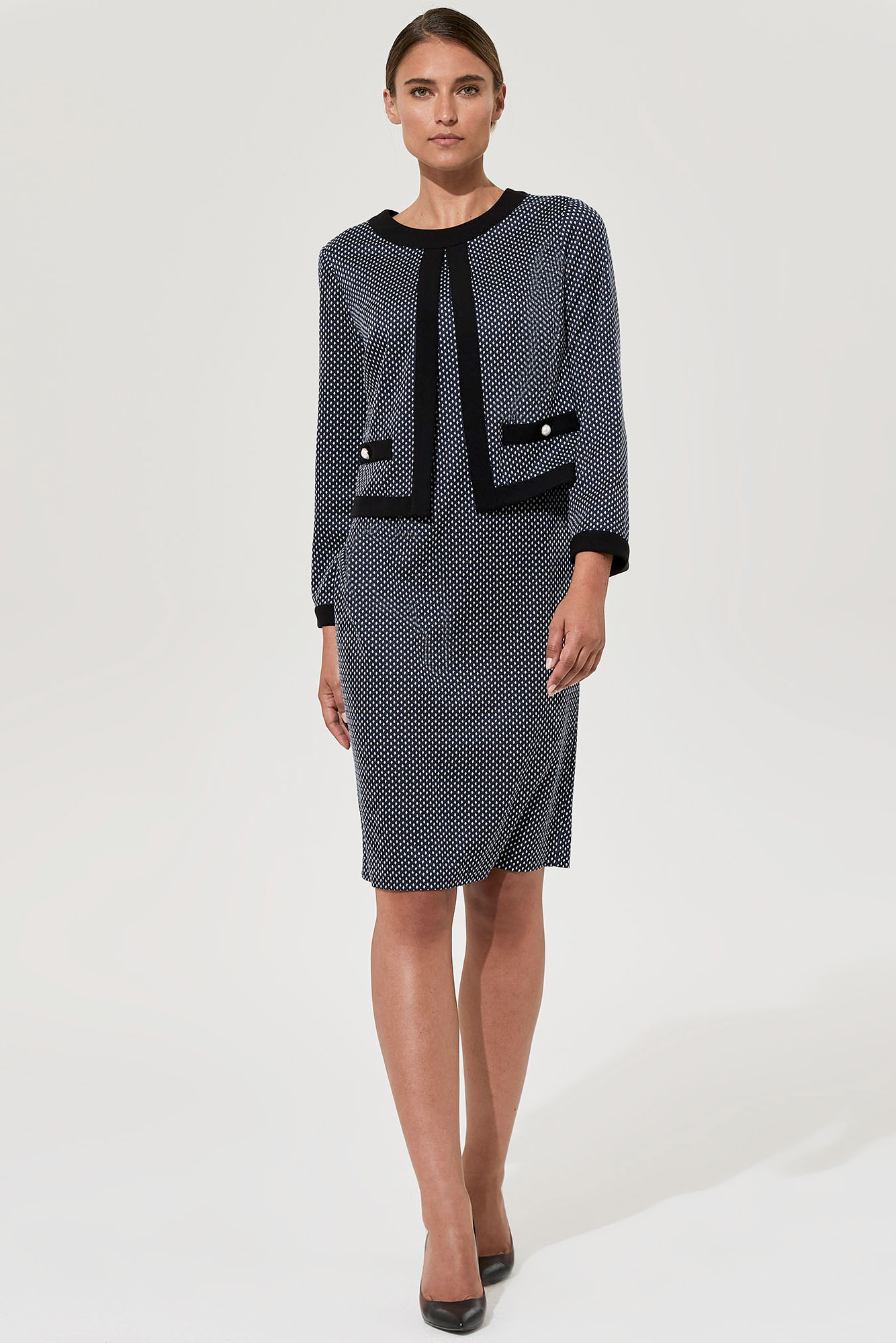 Karl Lagerfeld Paris All-In-One Dress & Jacket