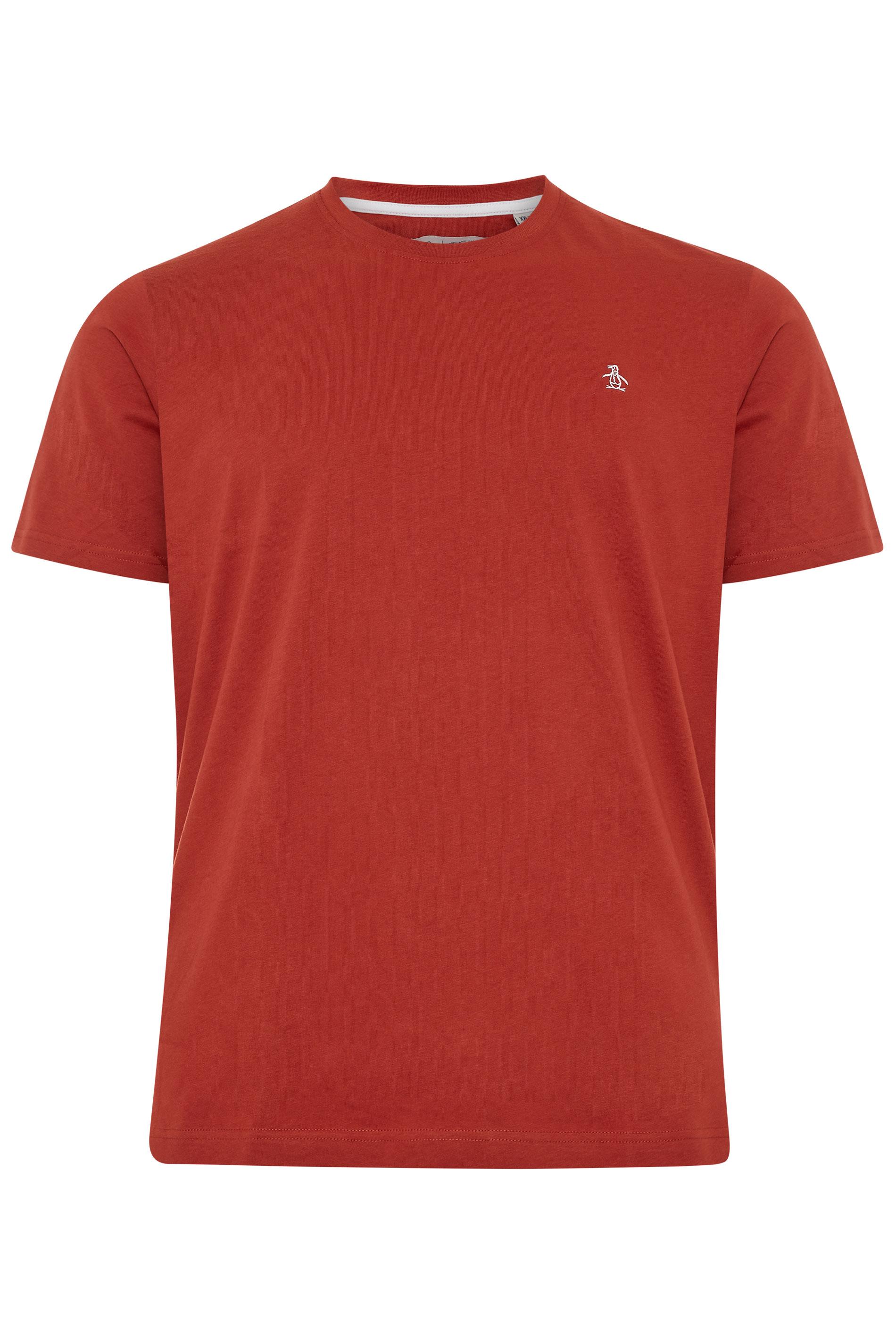 PENGUIN MUNSINGWEAR Red Crew Neck T-Shirt_F.jpg