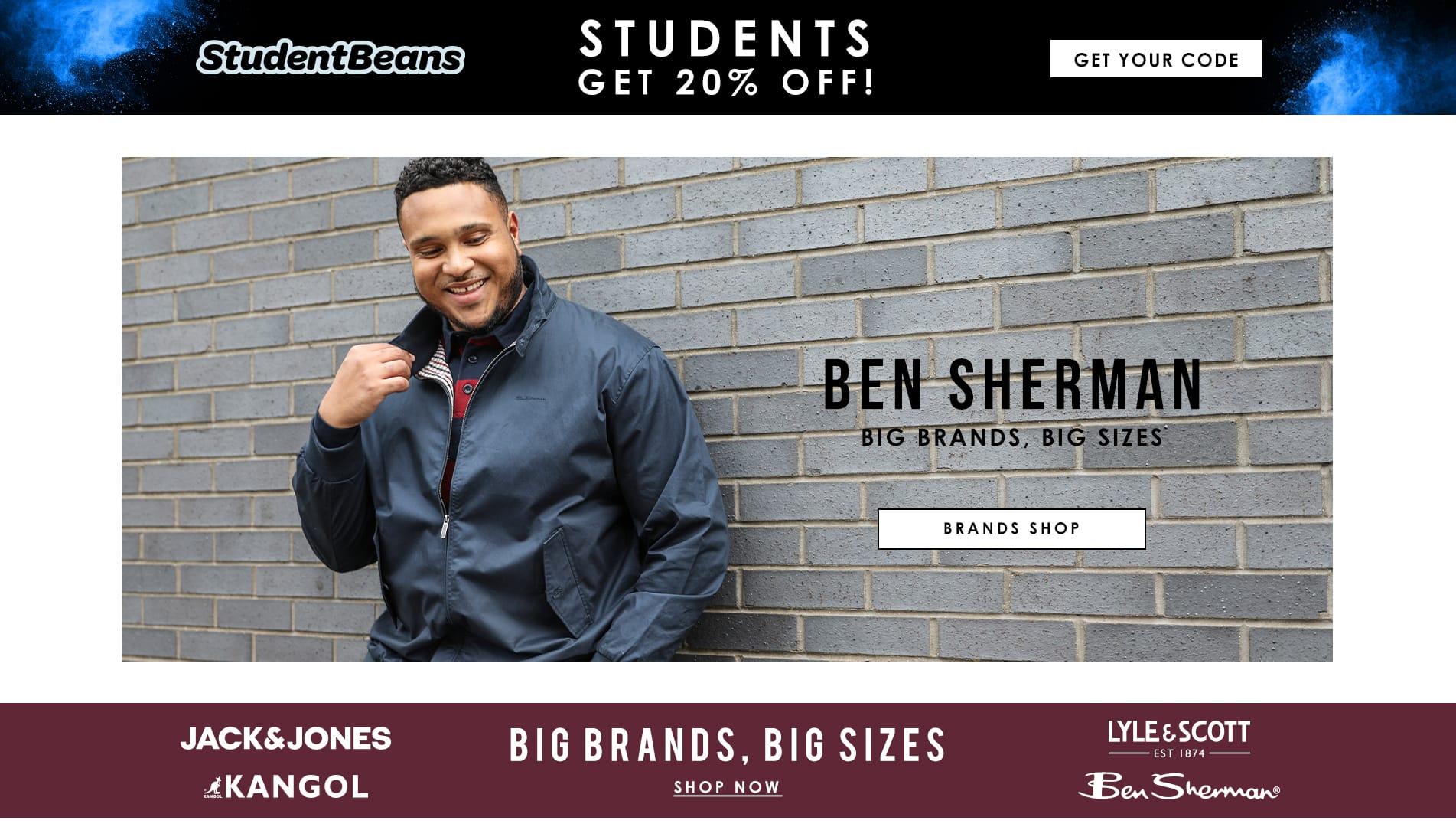 Student Discount - Brands
