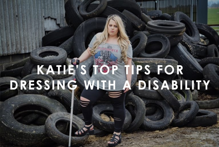 Katie's top tips for dressing with a disability