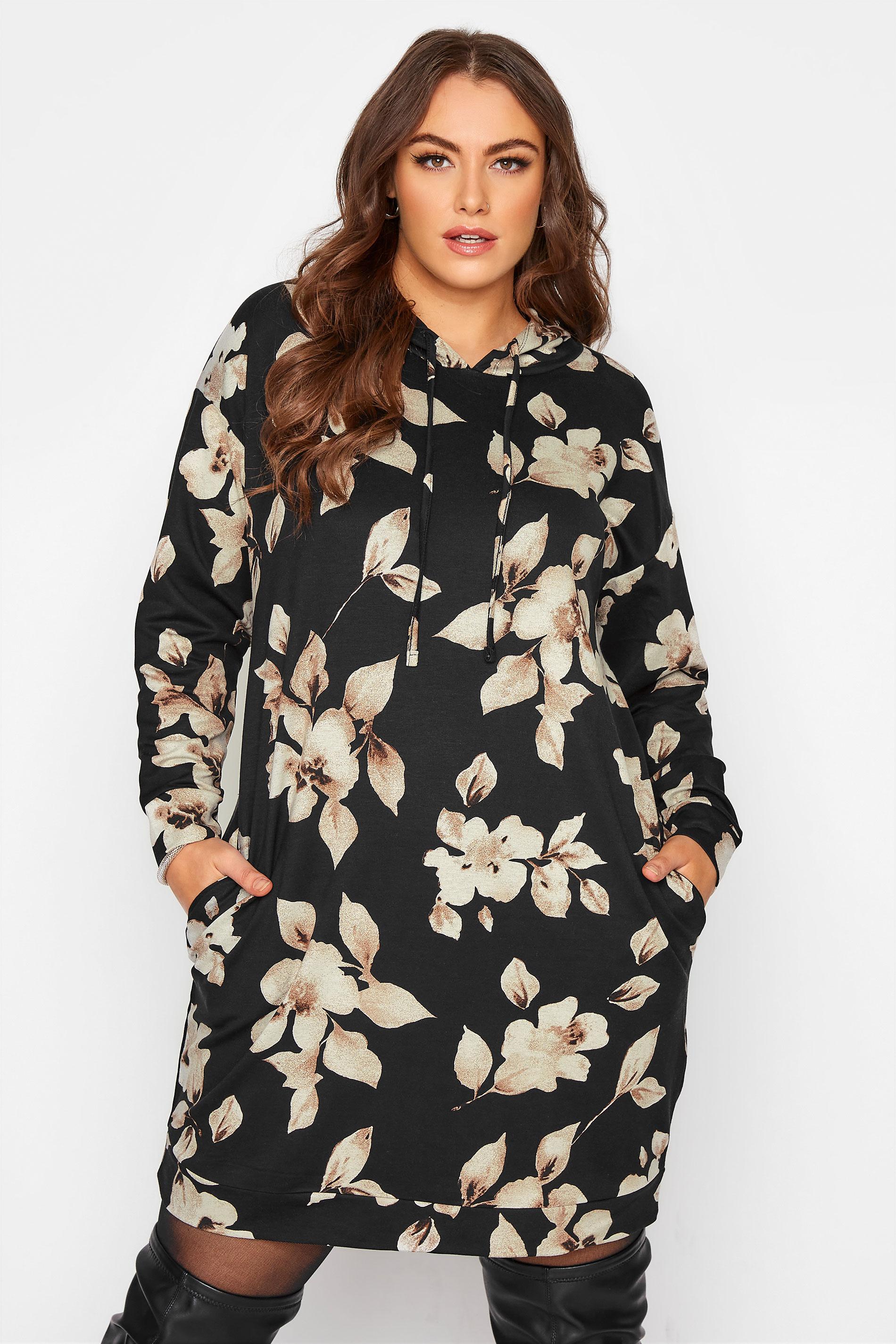 Black Floral Hoodie Dress_A.jpg