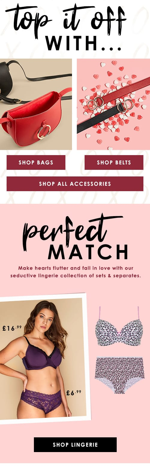 Shop Bags, Makeup, Belts and Accessories