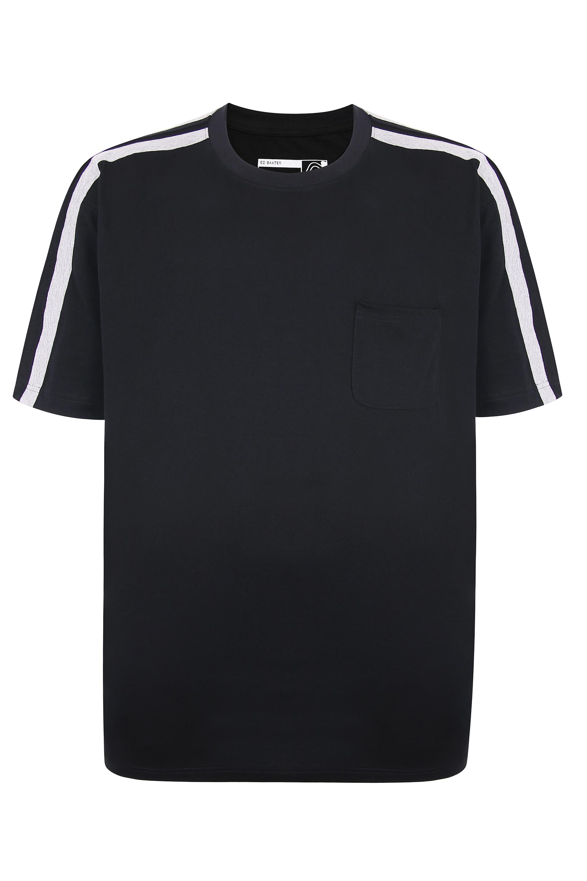 ED BAXTER Black Lounge T-Shirt_F.jpg