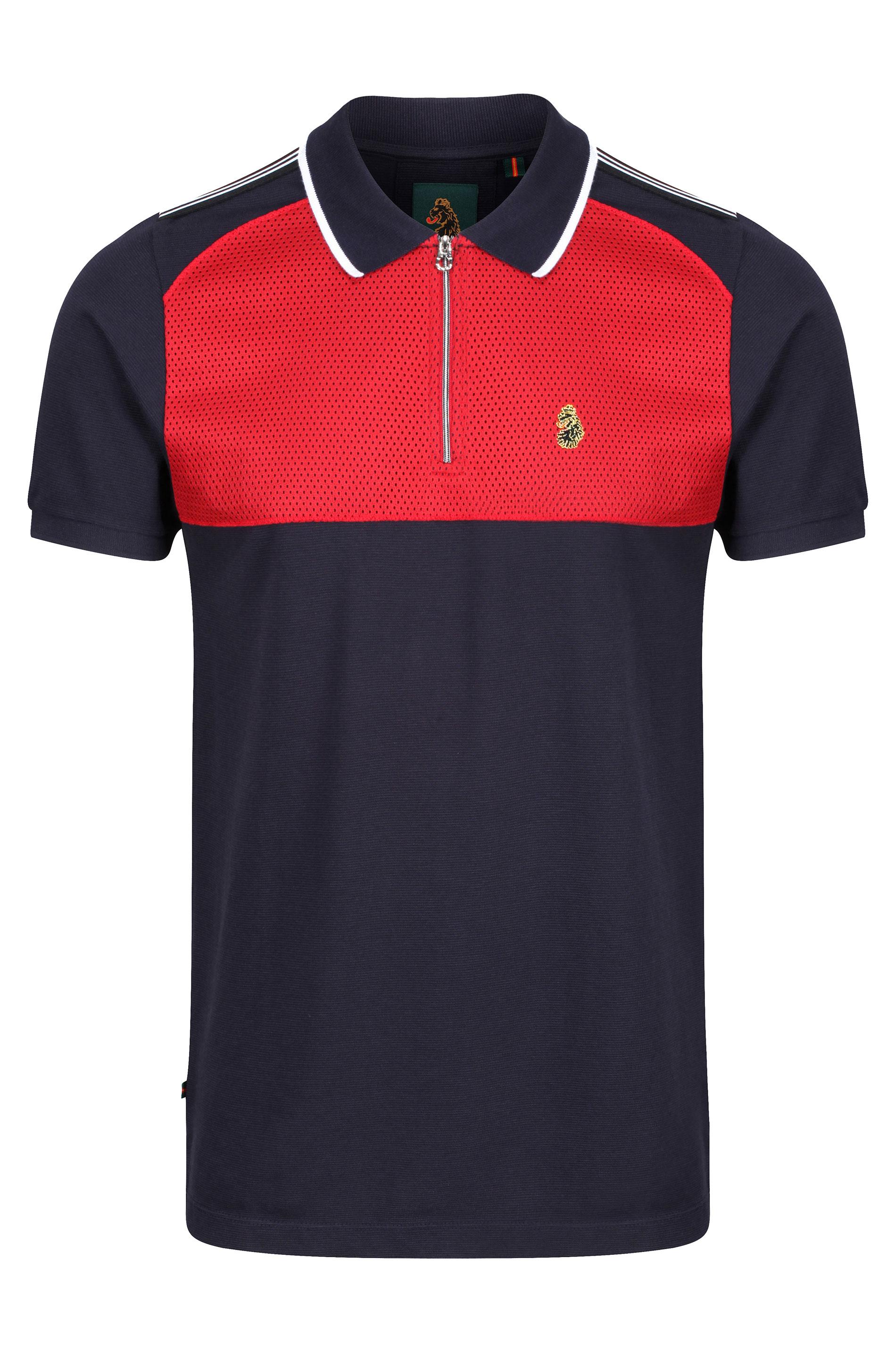 LUKE 1977 Navy Lorenzo Polo Shirt_F.jpg
