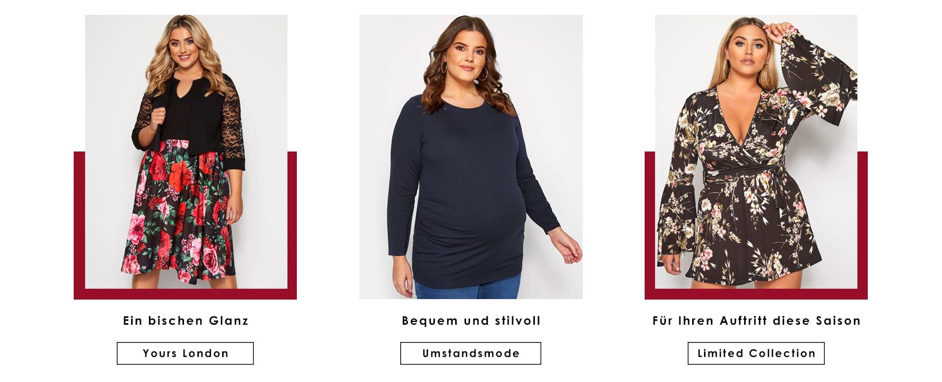 best website b3c7d d7e11 Große Größen Damenmode   Plus Size Mode für Mollige   Yours ...