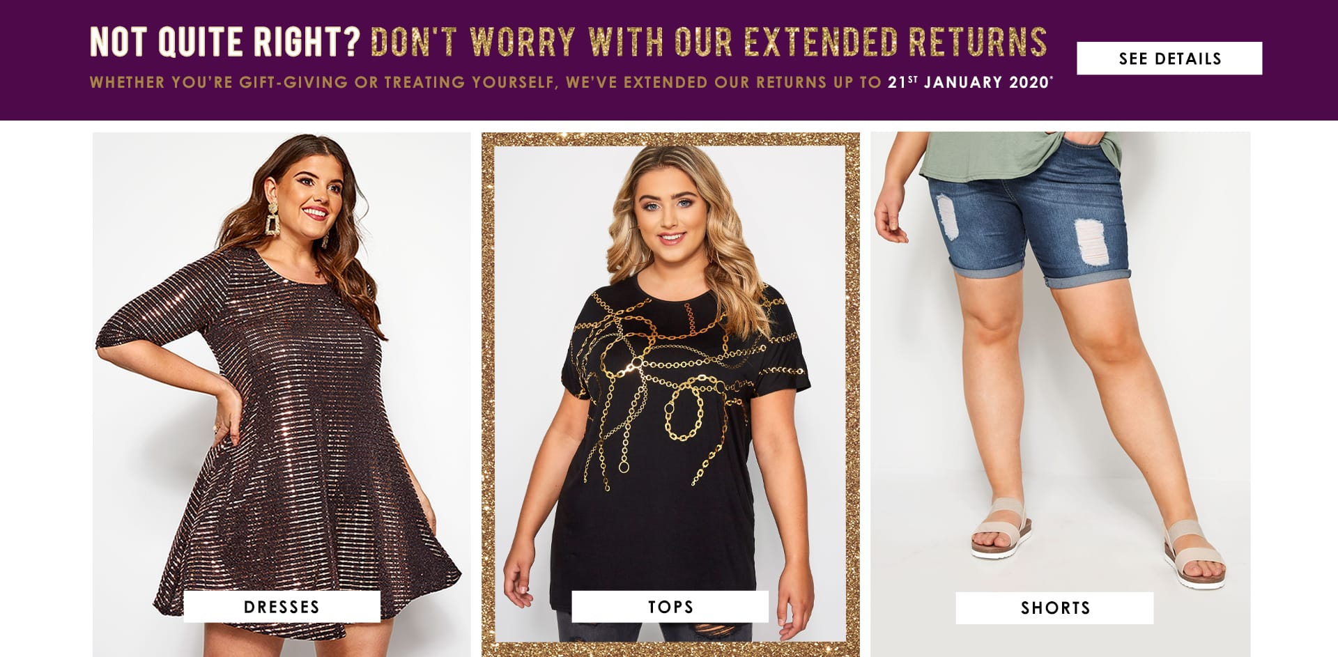 Dresses, Tops, Shorts