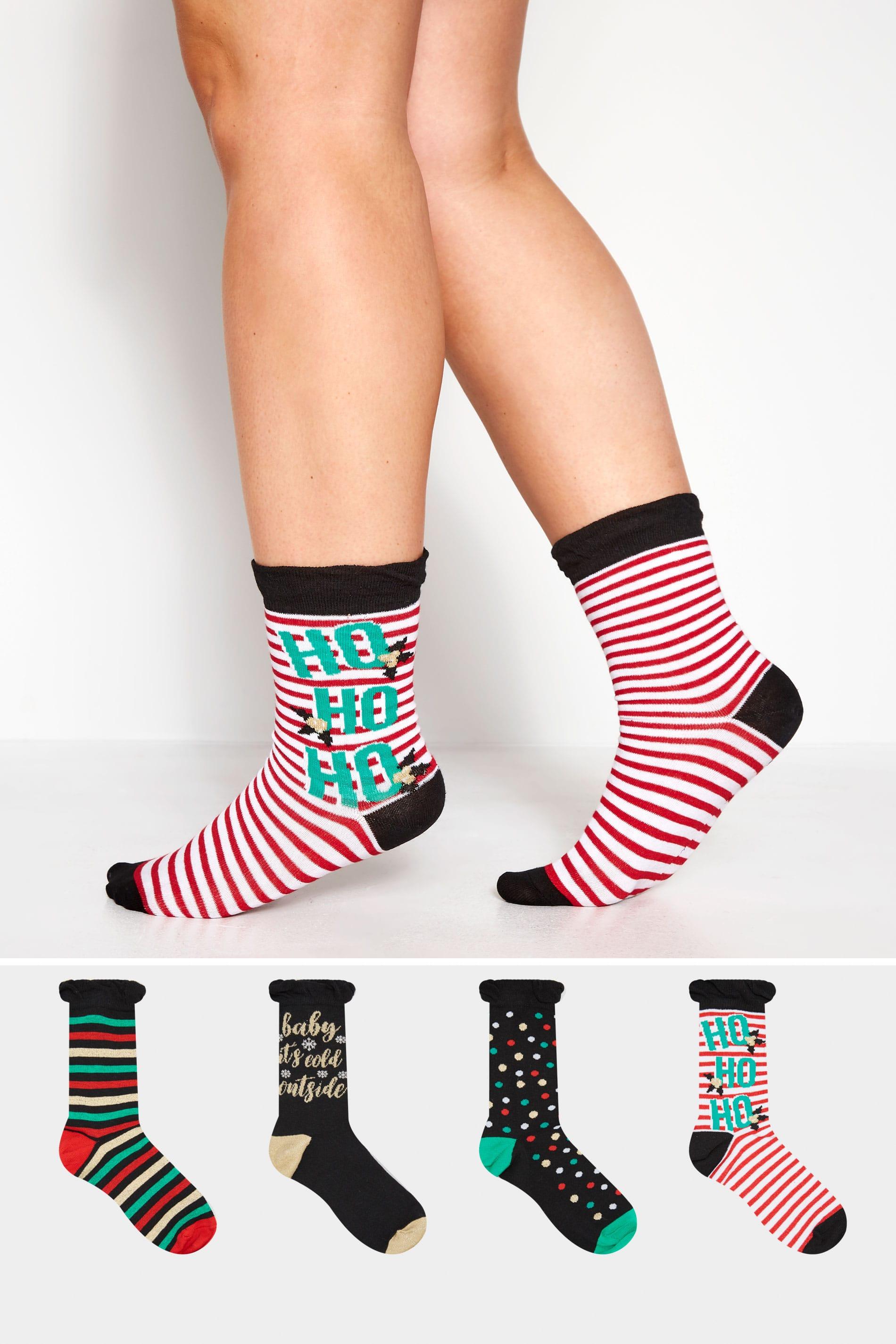 Girls 3 Pk Novelty Cotton Rich Socks