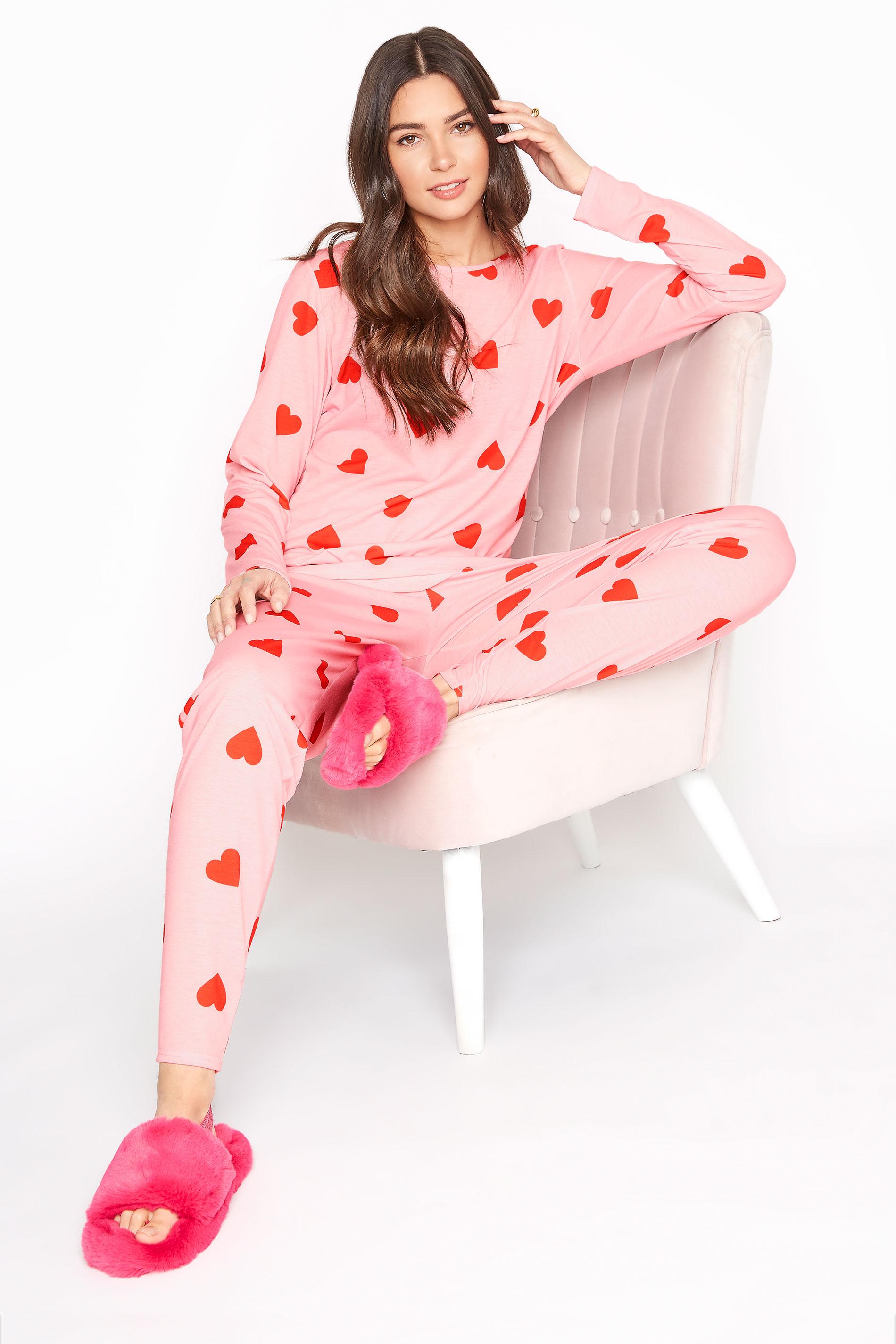 LTS Pink Heart Lounge Set