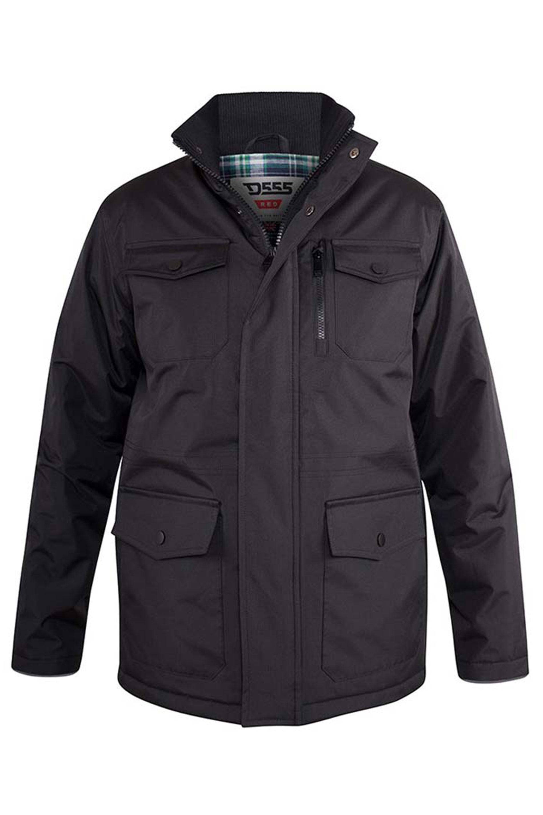 D555 Black Fargo Five Pocket Jacket