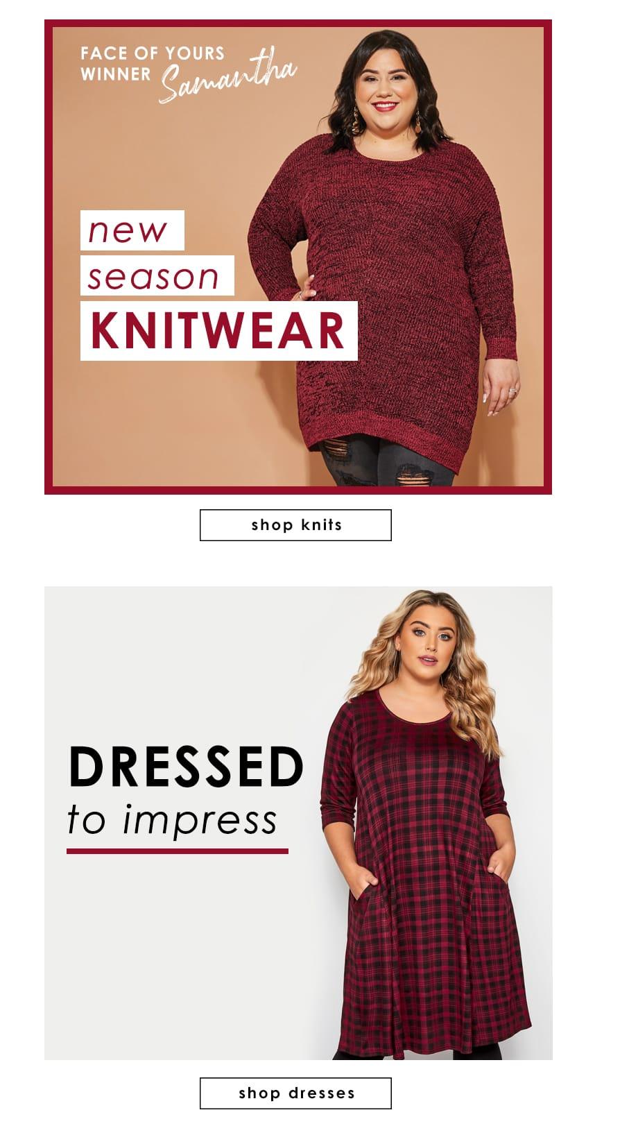 Knitwear - Dresses